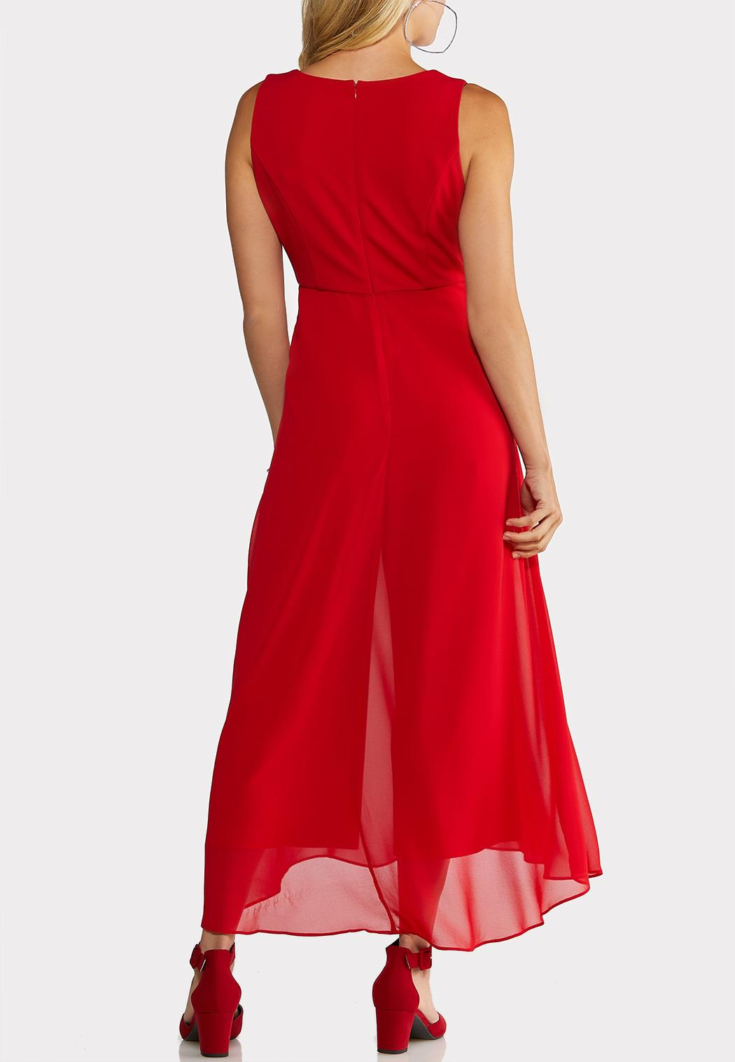 Petite Red Flyaway Jumpsuit (Item #44017777)