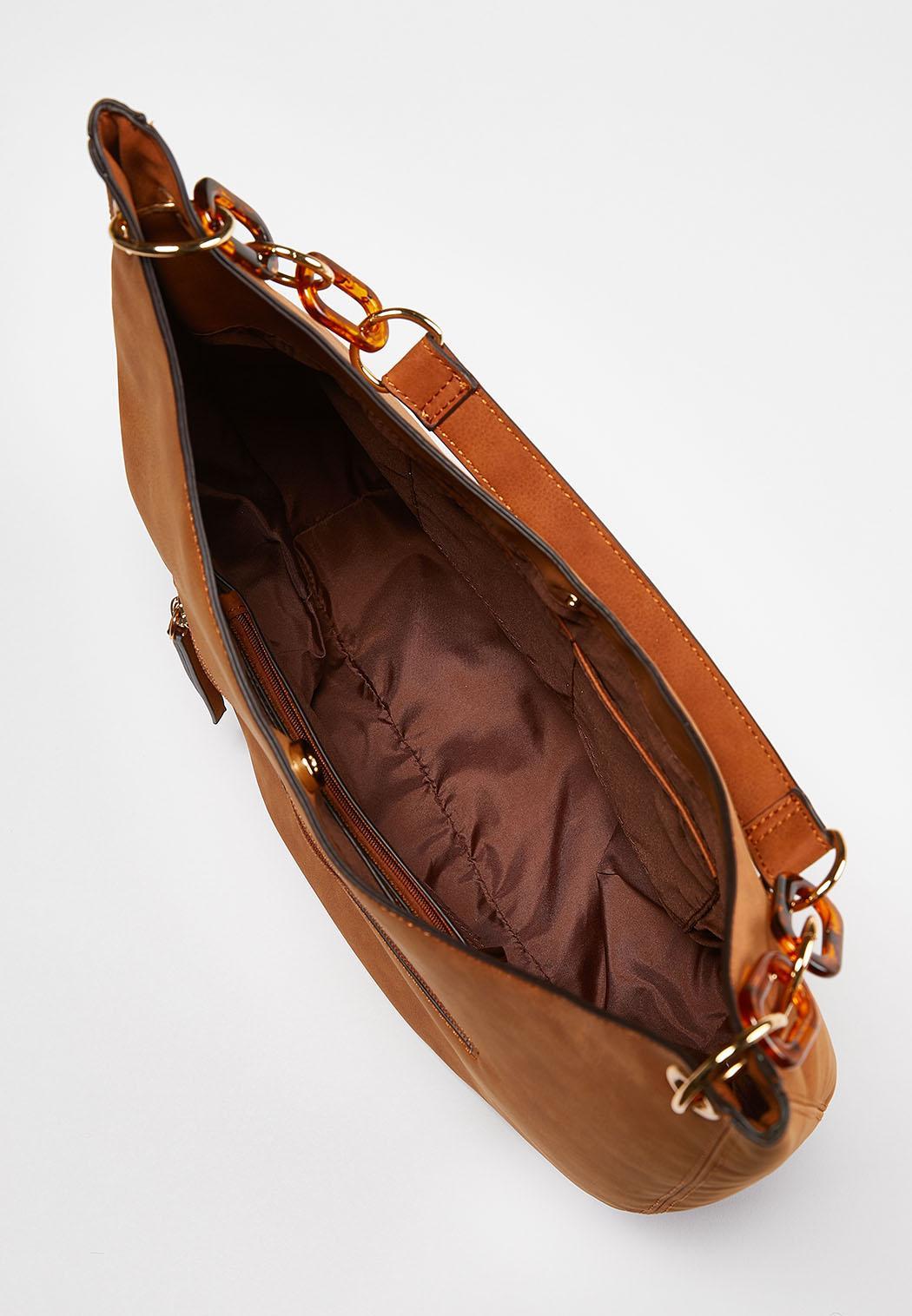 Tortoise Link Hobo Handbag (Item #44018248)