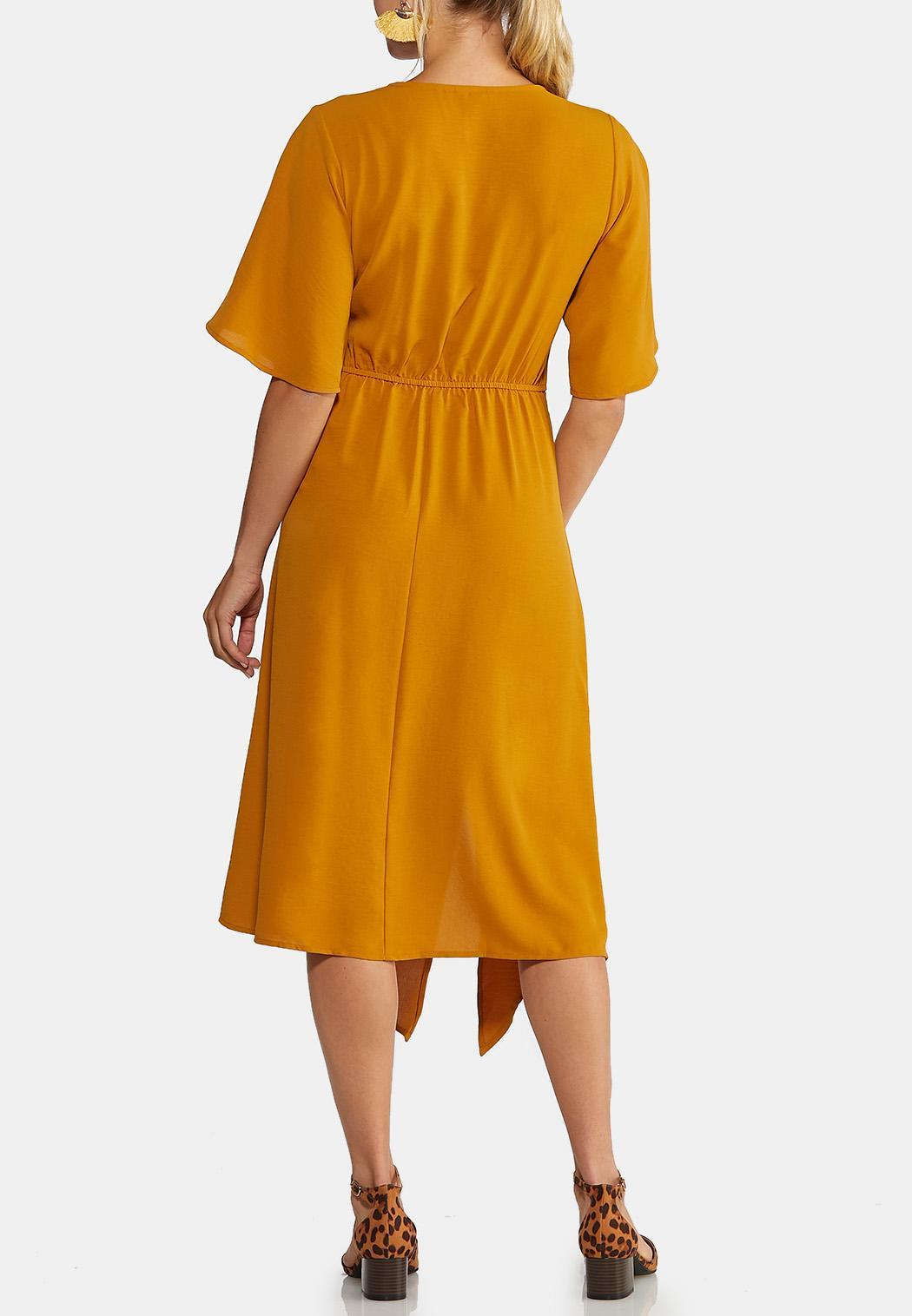 Gold Belted Dress (Item #44019057)