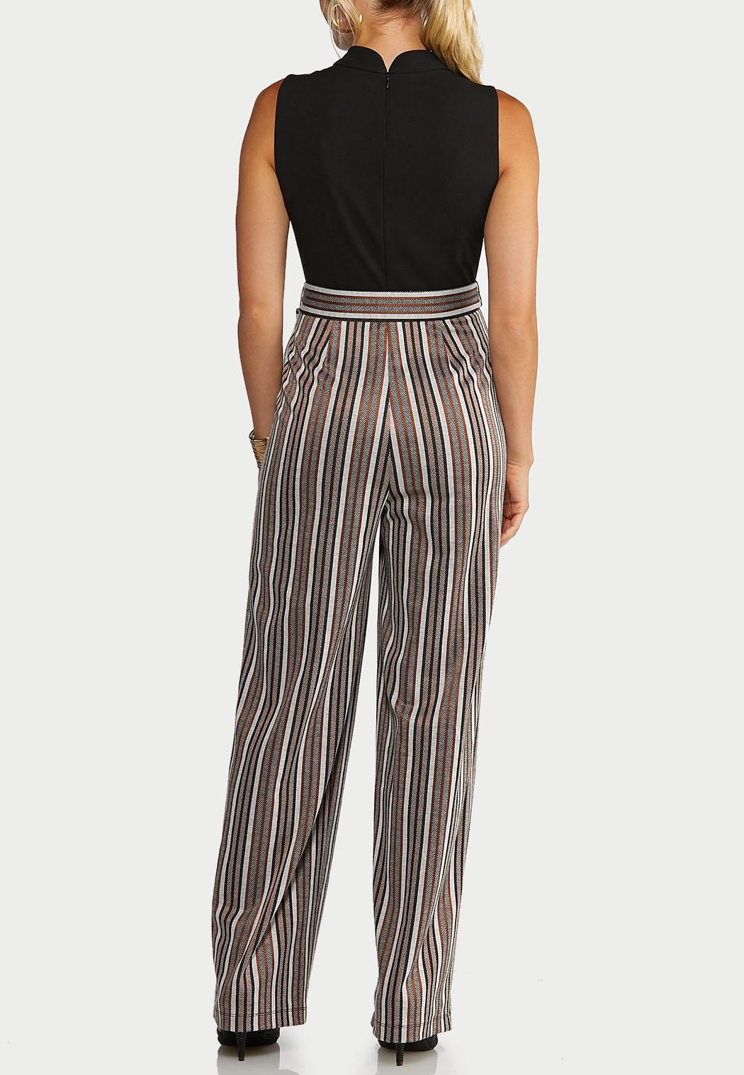 Striped Leg Jumpsuit (Item #44019285)