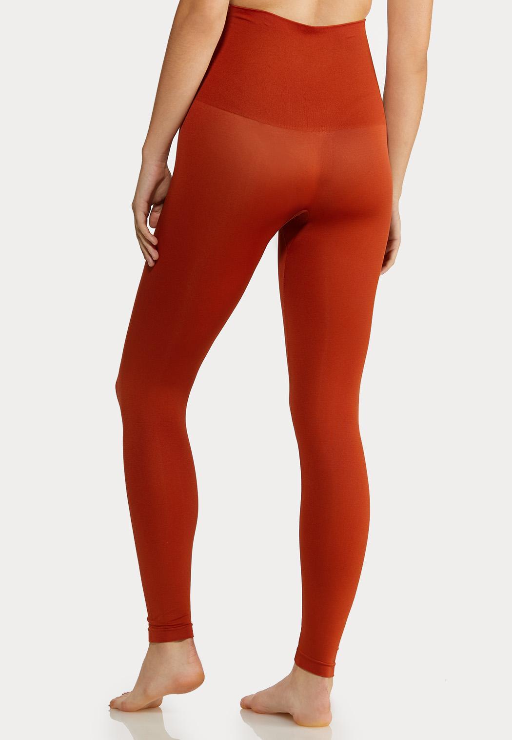Plus Size The Perfect Rust Shaping Leggings (Item #44019842)