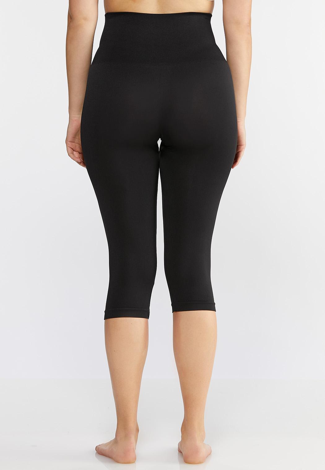 Plus Extended The Perfect Black Capri Legging (Item #44019934)