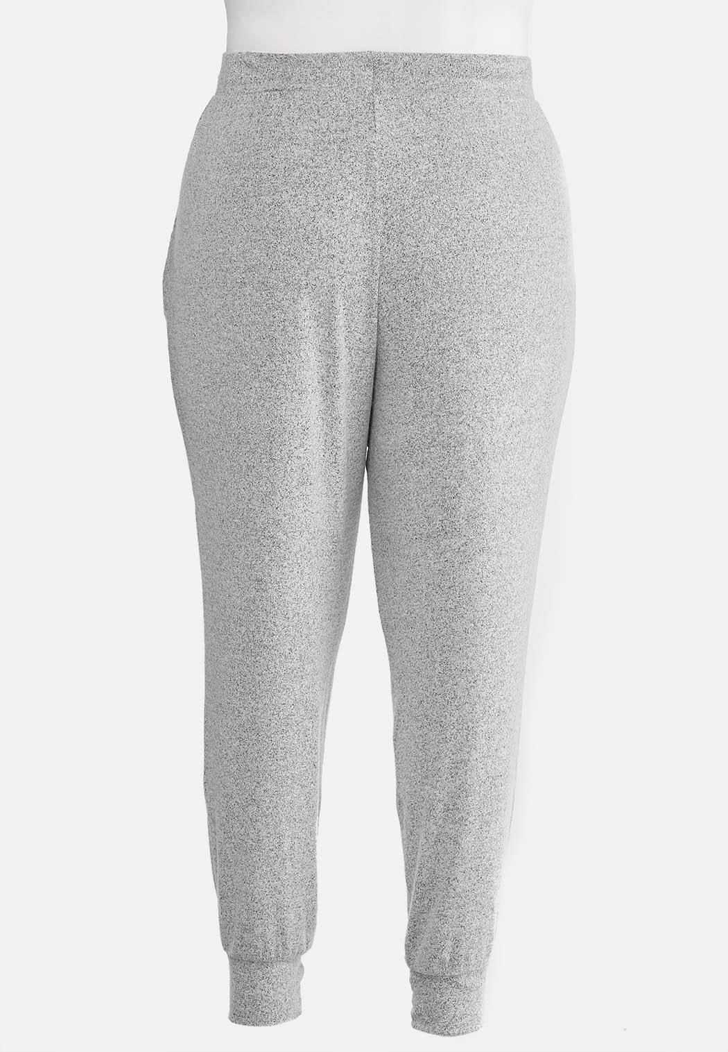 Plus Size Hacci Jogger Pants (Item #44023094)