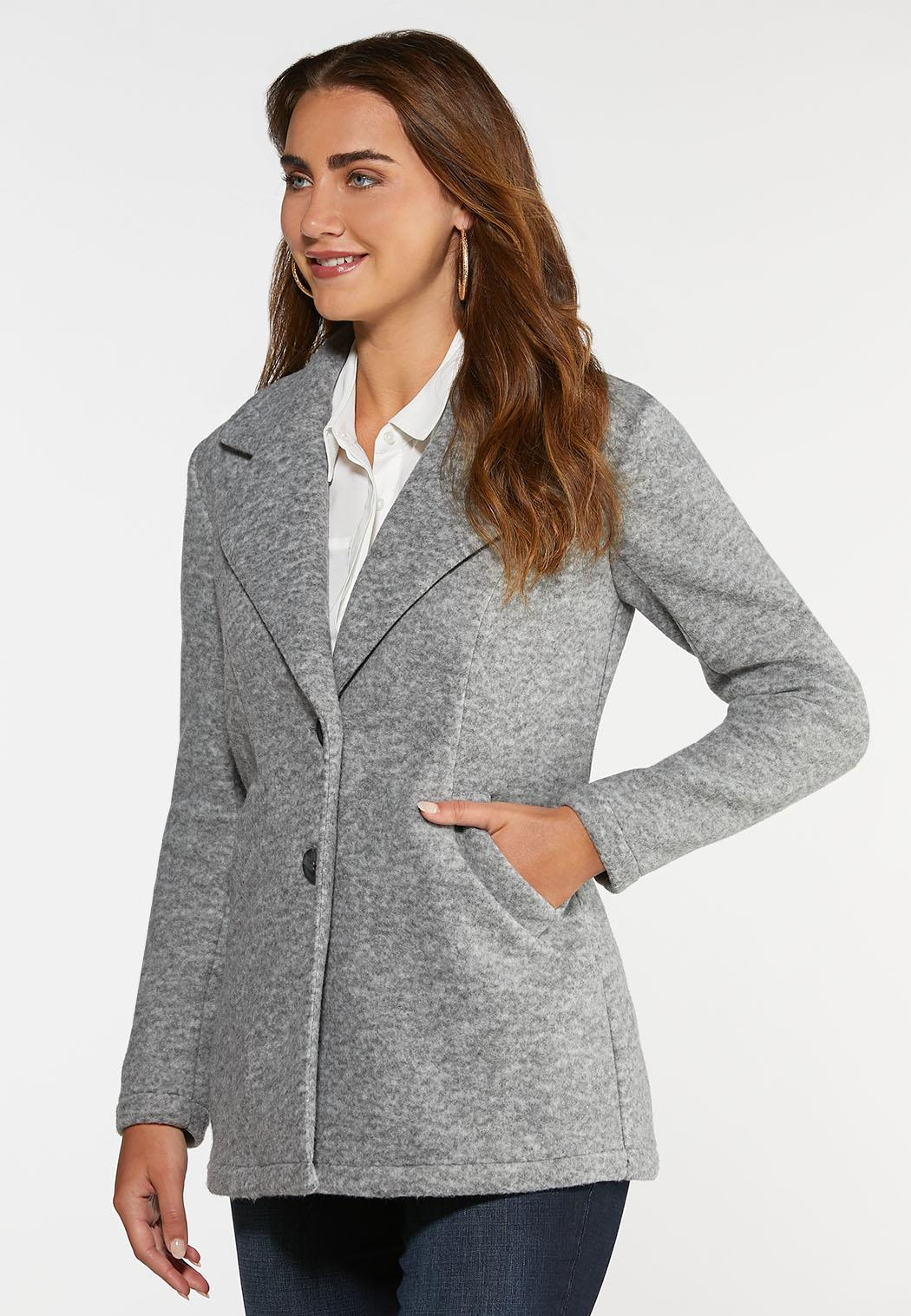 Plus Size Outerwear Coat (Item #44024693)