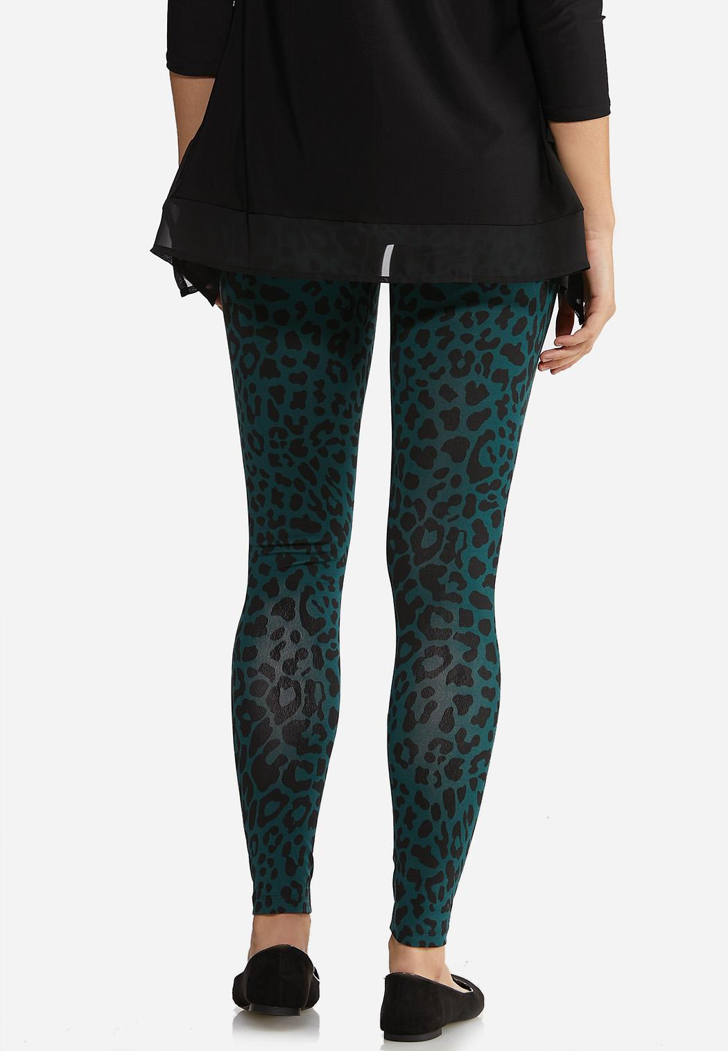 Green Leopard Leggings (Item #44024784)