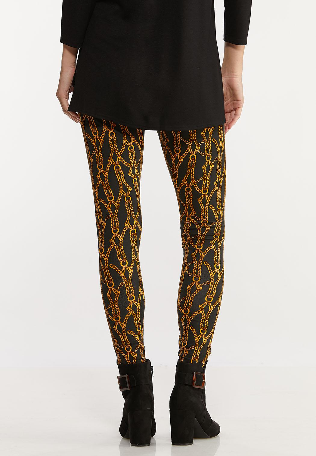 Gold Chain Leggings (Item #44024803)