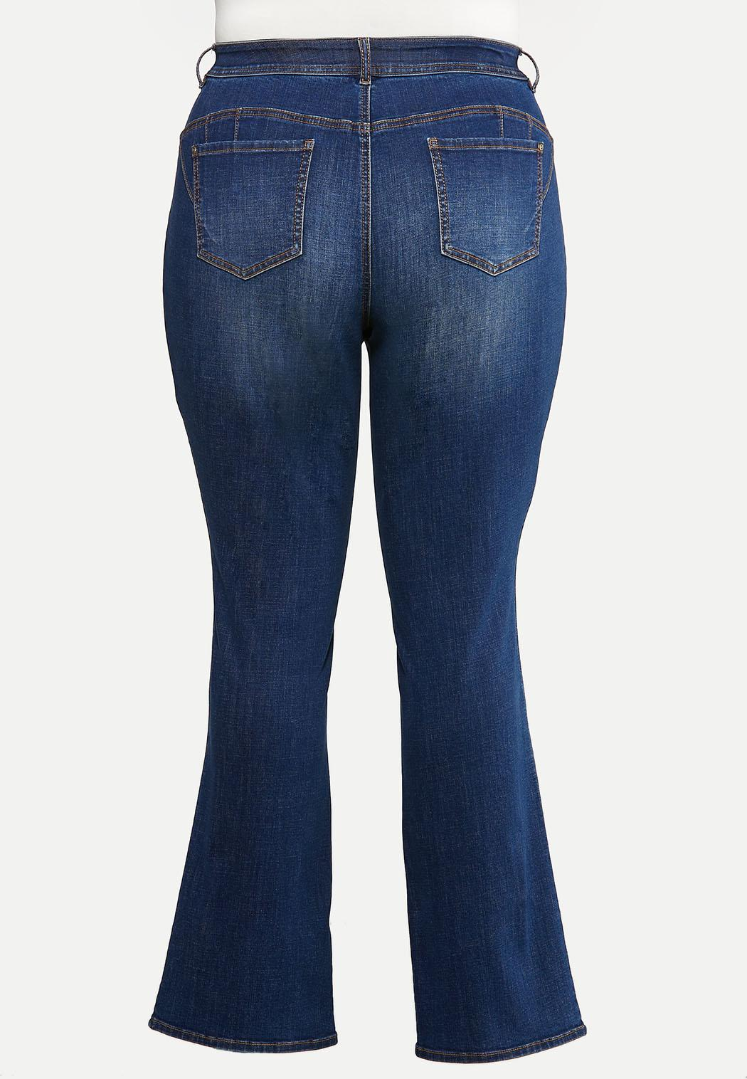 Plus Size The Perfect Bootcut Jeans (Item #44025733)