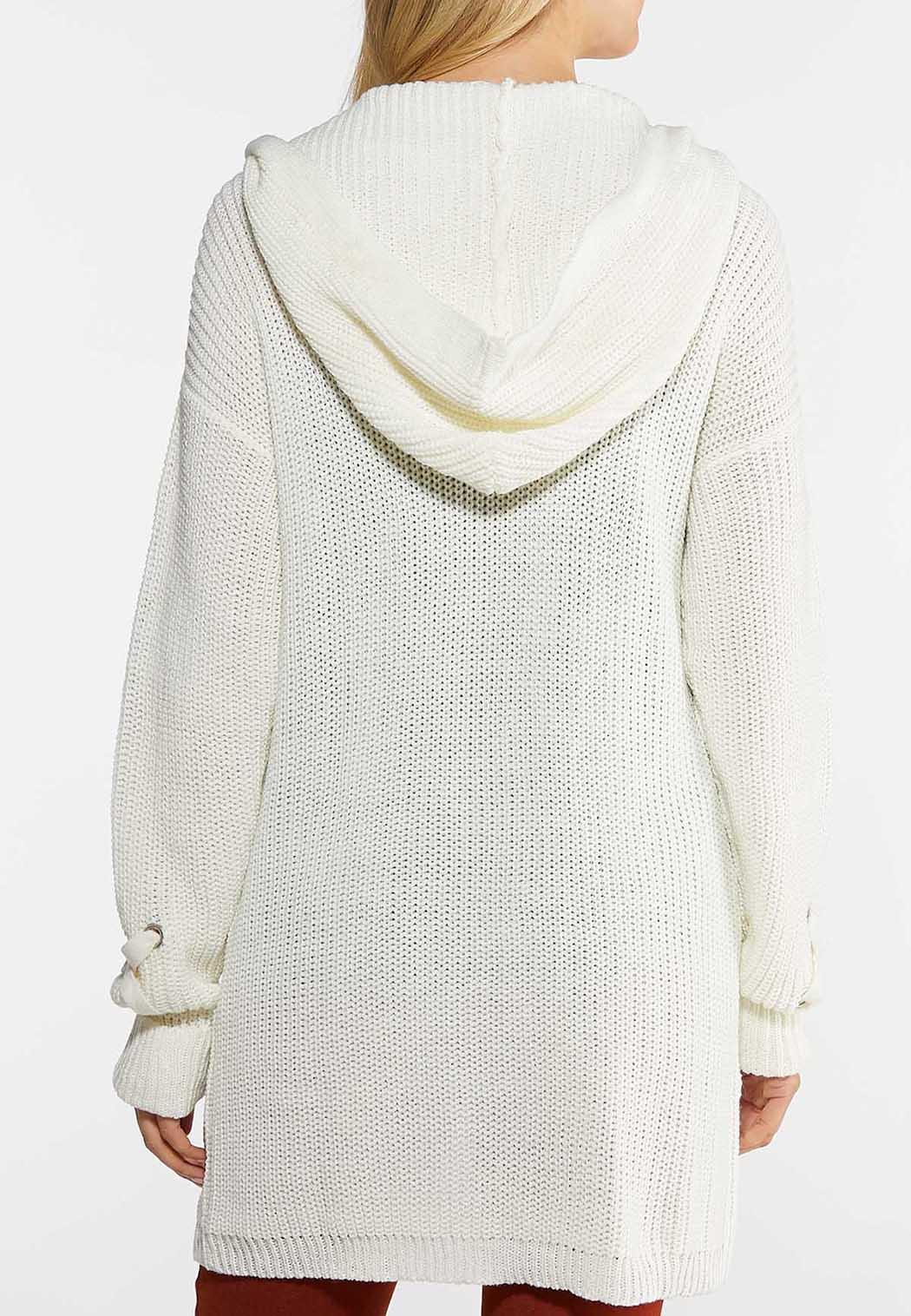 Hooded Cardigan Sweater (Item #44025929)