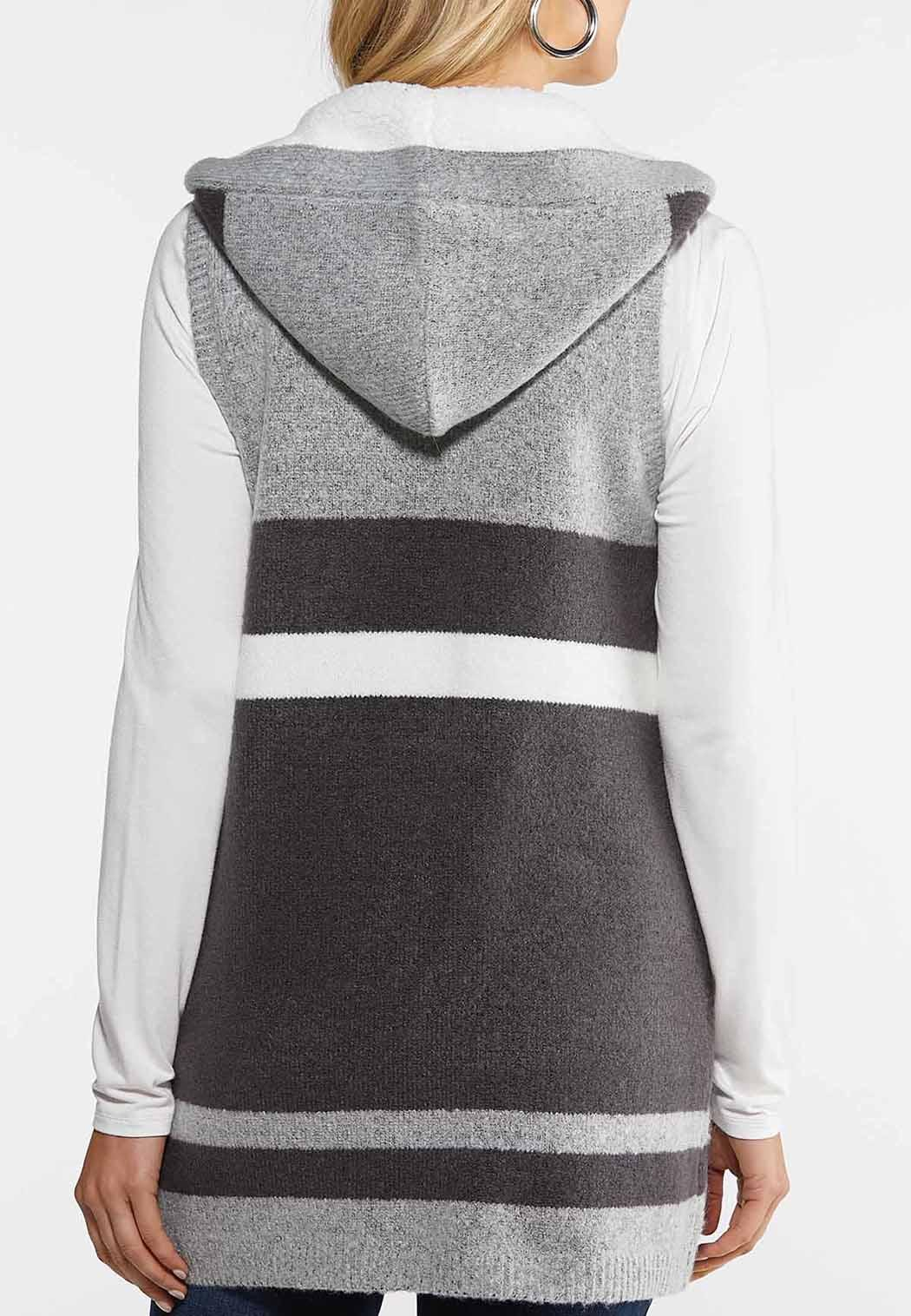 Colorblock Hooded Vest (Item #44026027)