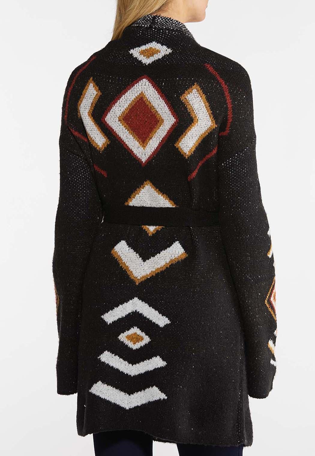 Aztec Belted Cardigan (Item #44026490)