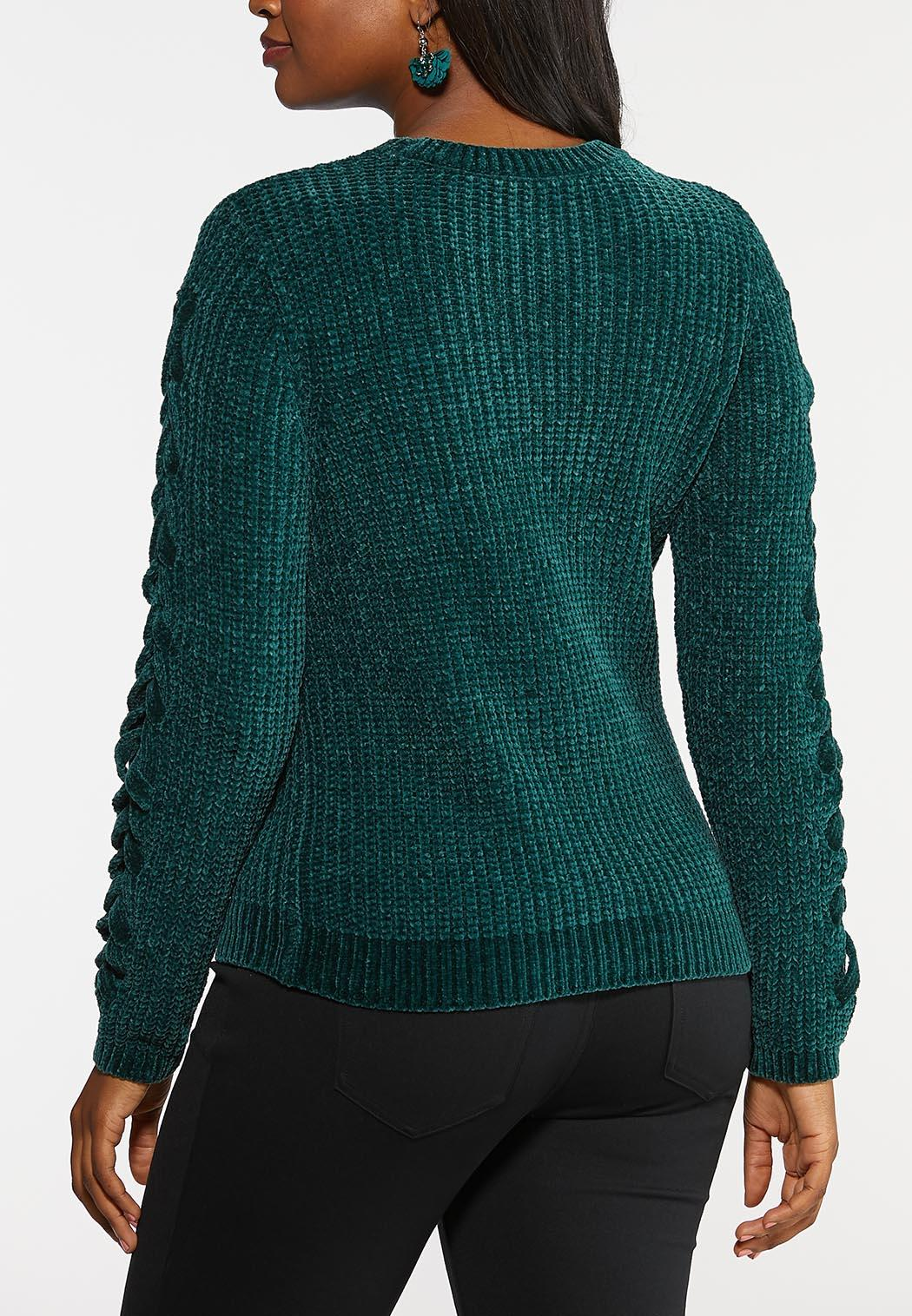 Green Chenille Sweater (Item #44026501)