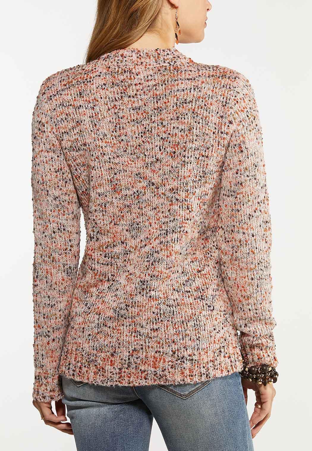 Multi Popcorn Textured Sweater (Item #44026568)
