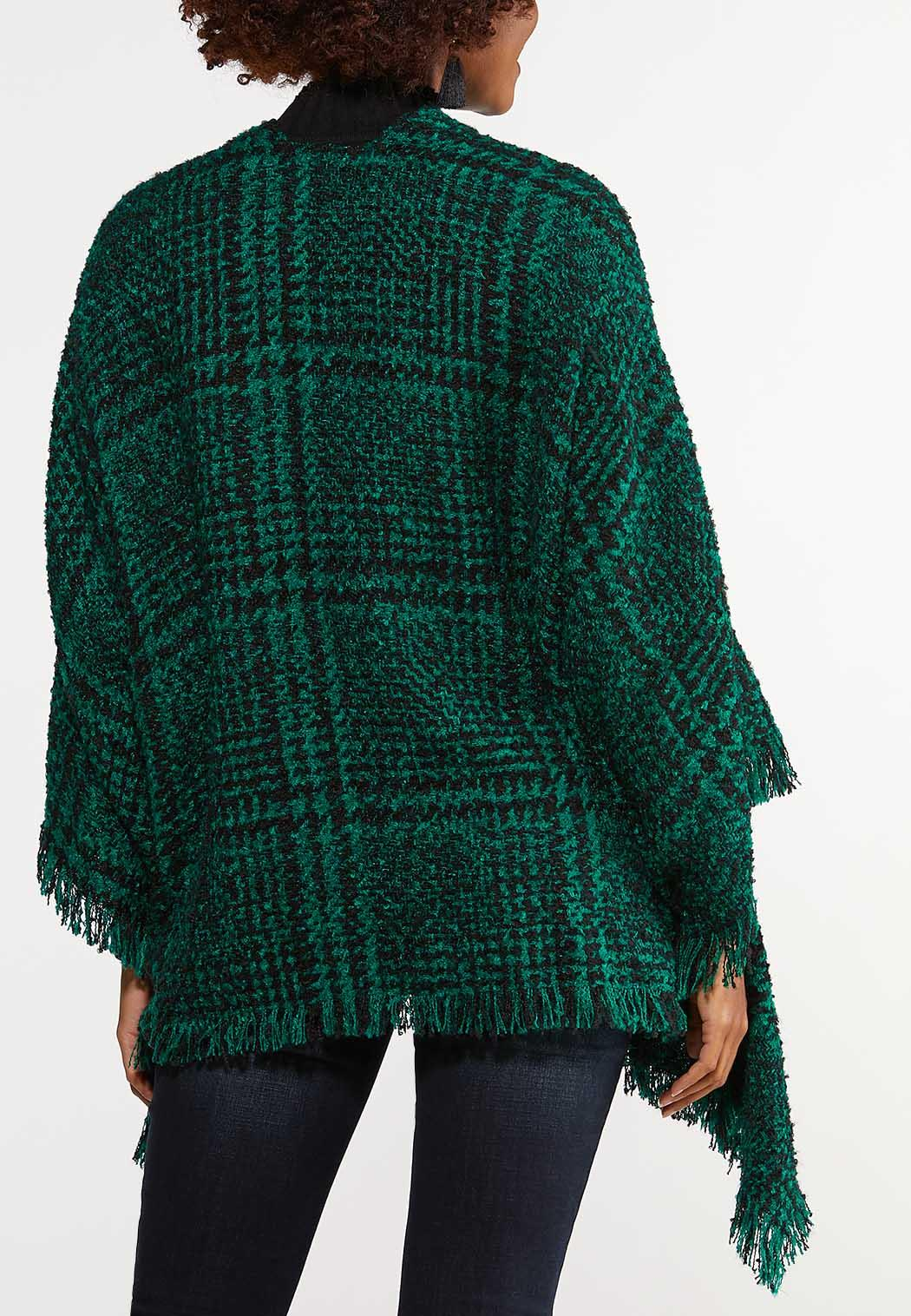 Houndstooth Sweater Wrap (Item #44026900)