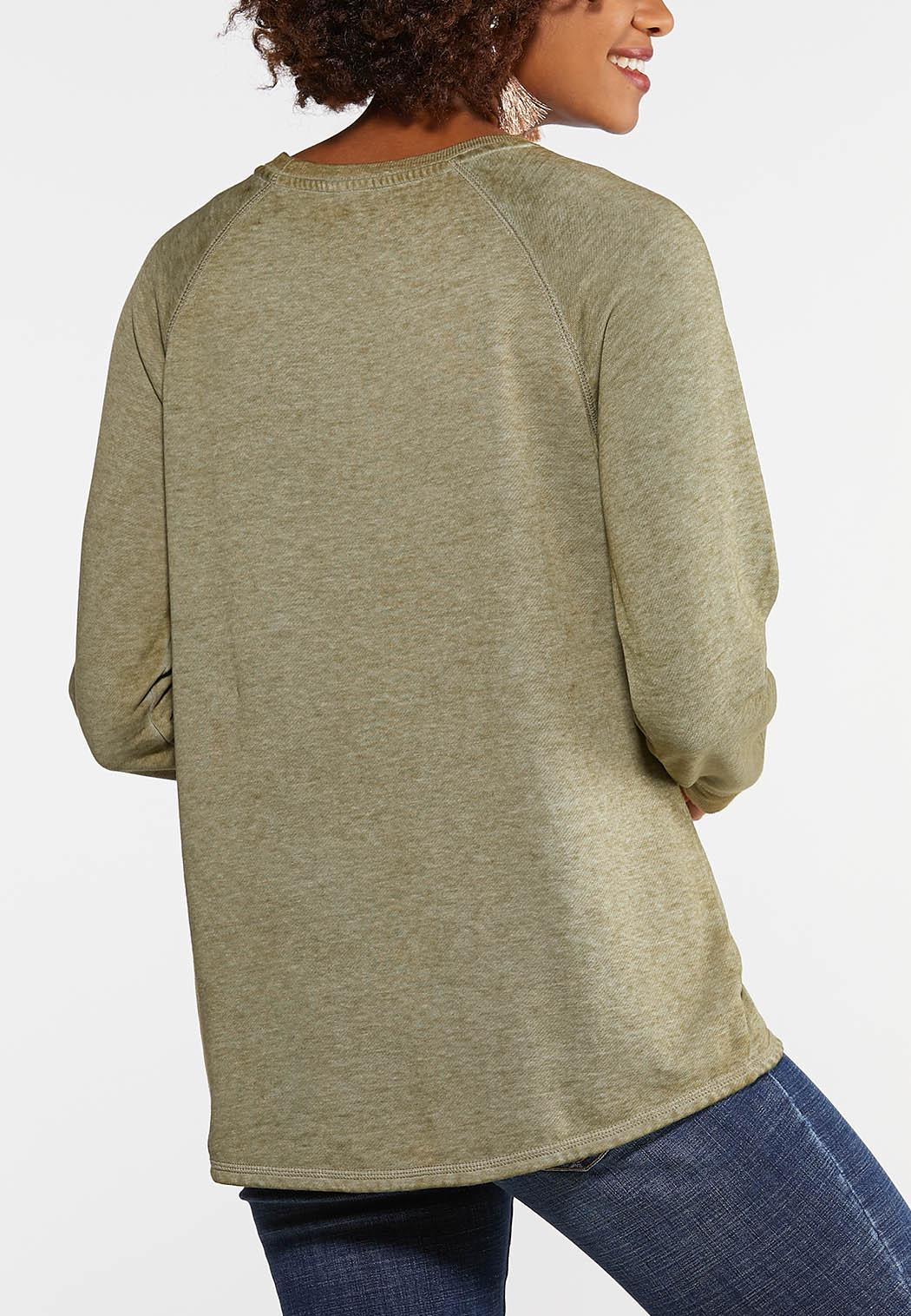 Plus Size Faith Hope Love Sweatshirt (Item #44027013)