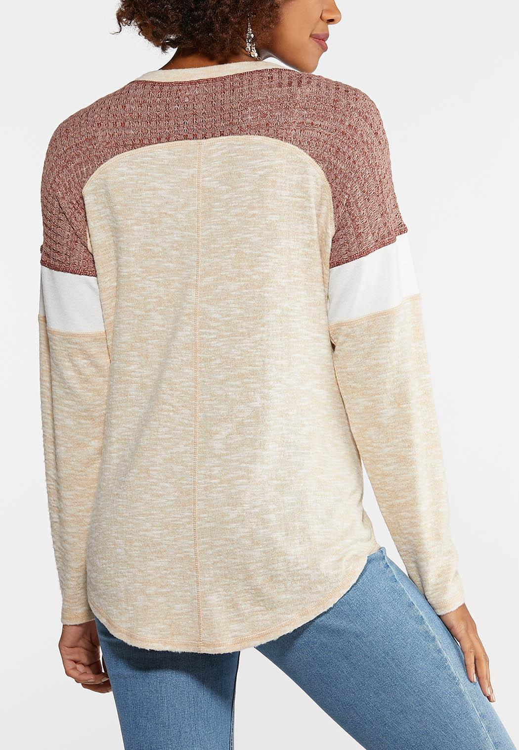 Plus Size Llamaste Thermal Top (Item #44027078)