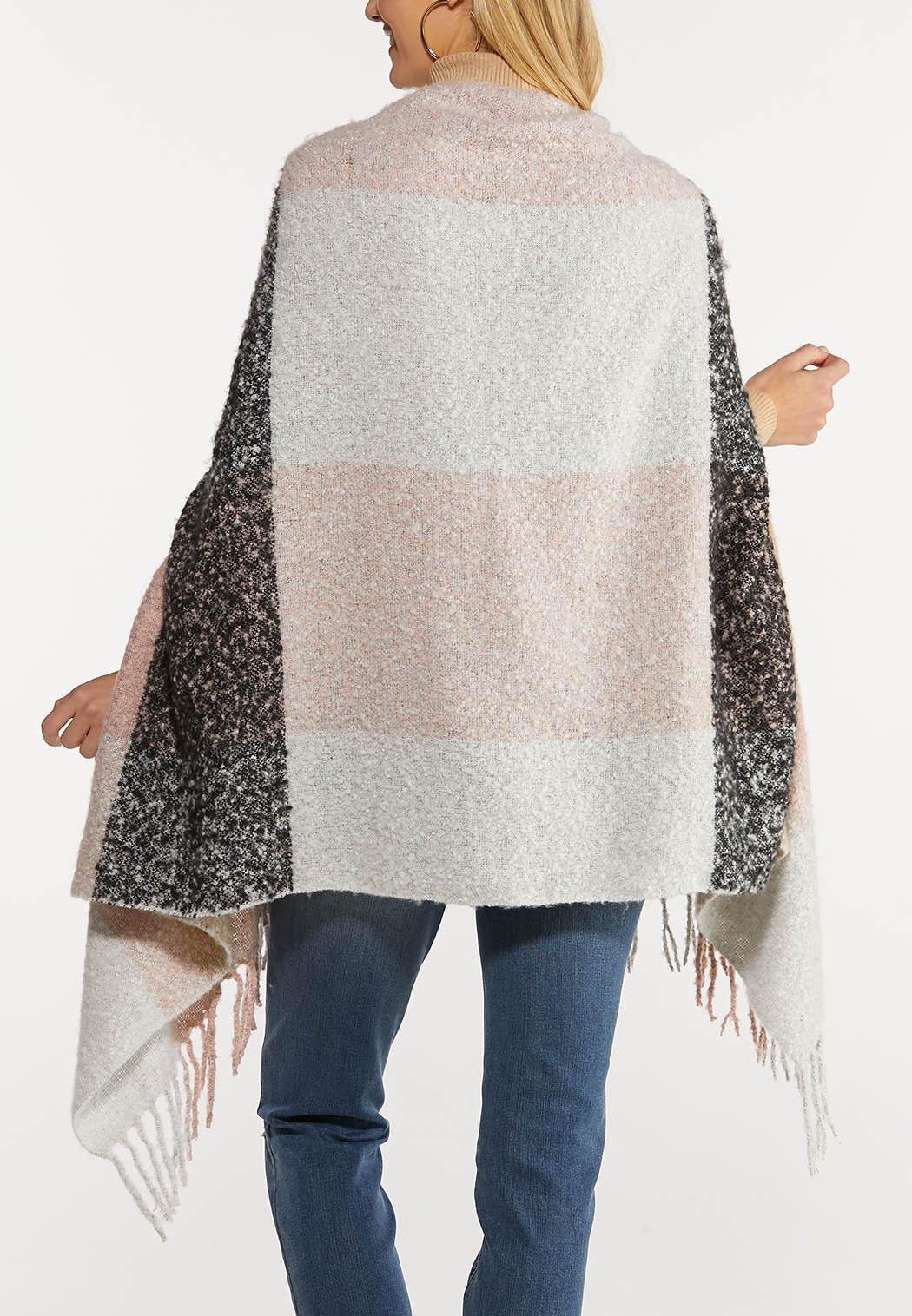 Brushed Plaid Cold Weather Wrap (Item #44027443)