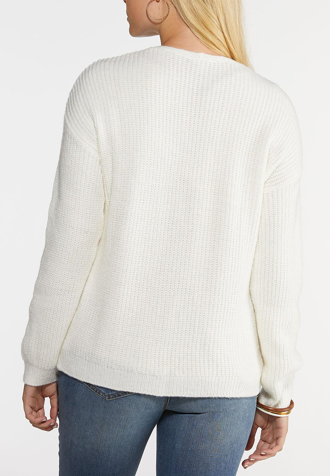 Front Pocket Cardigan Sweater (Item #44027498)