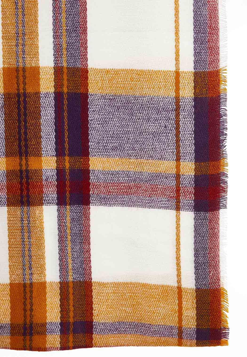 Brushed Plaid Infinity Scarf (Item #44027563)