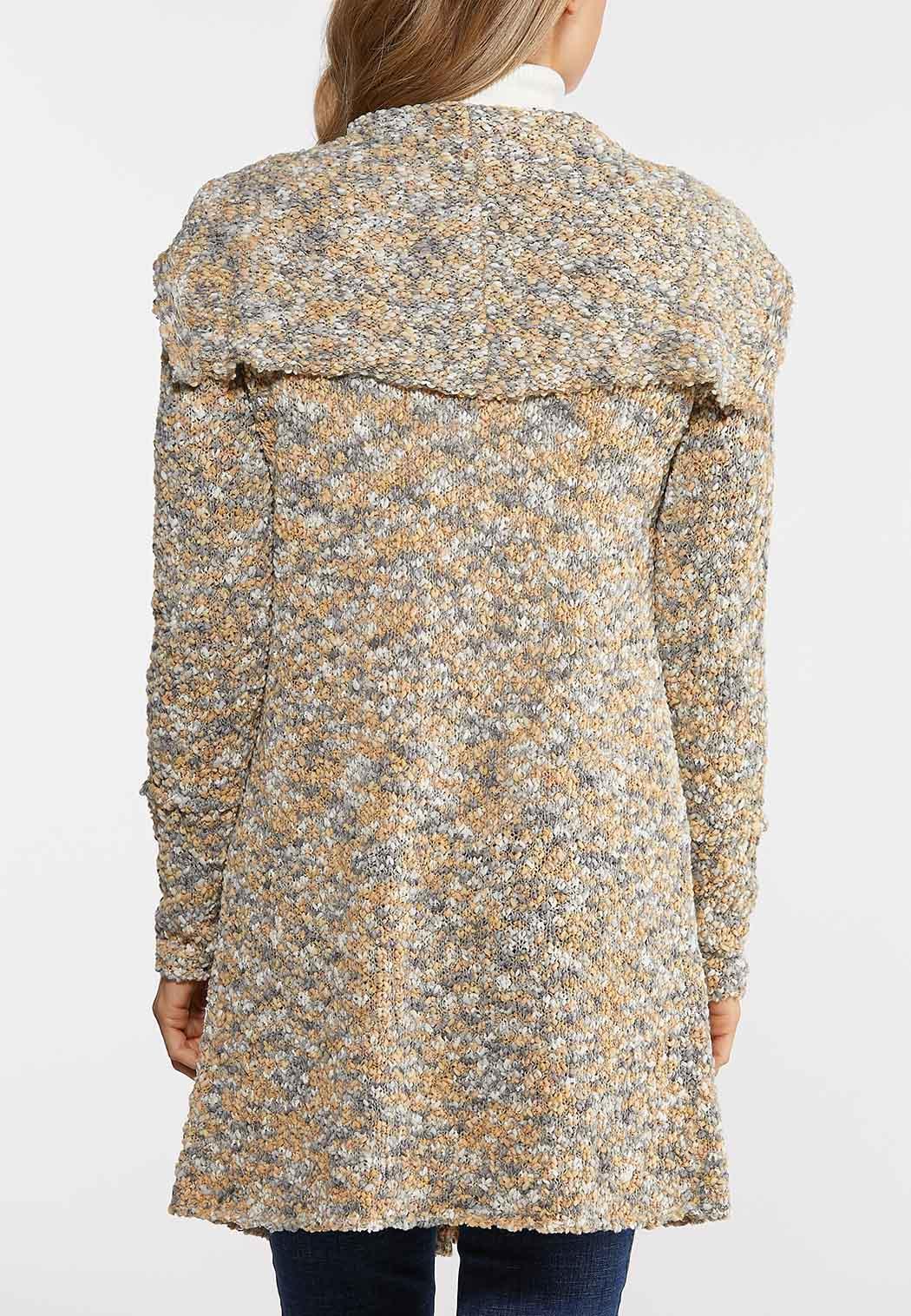 Multi Popcorn Cardigan Sweater (Item #44027832)