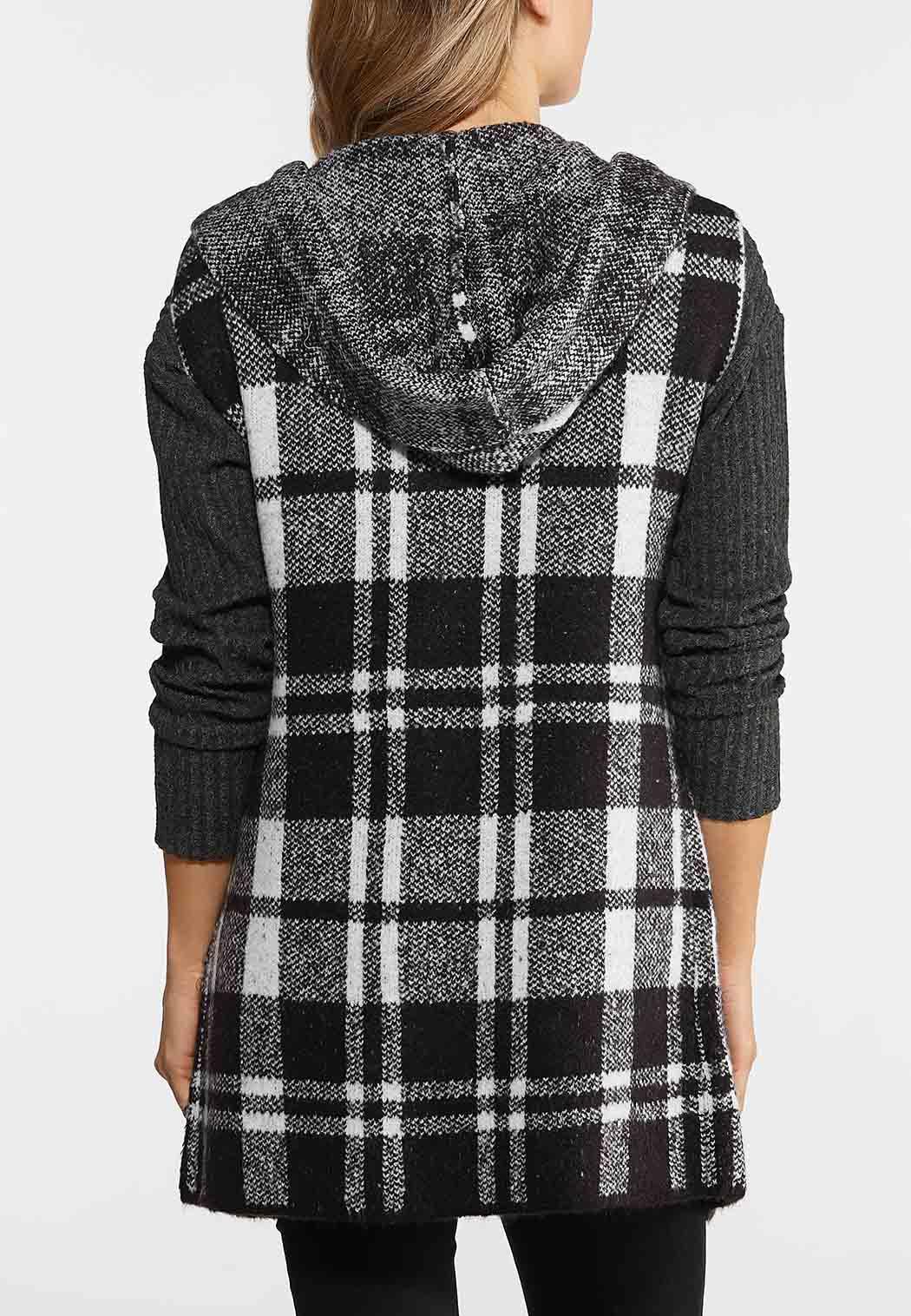 Buffalo Plaid Hooded Vest (Item #44027952)