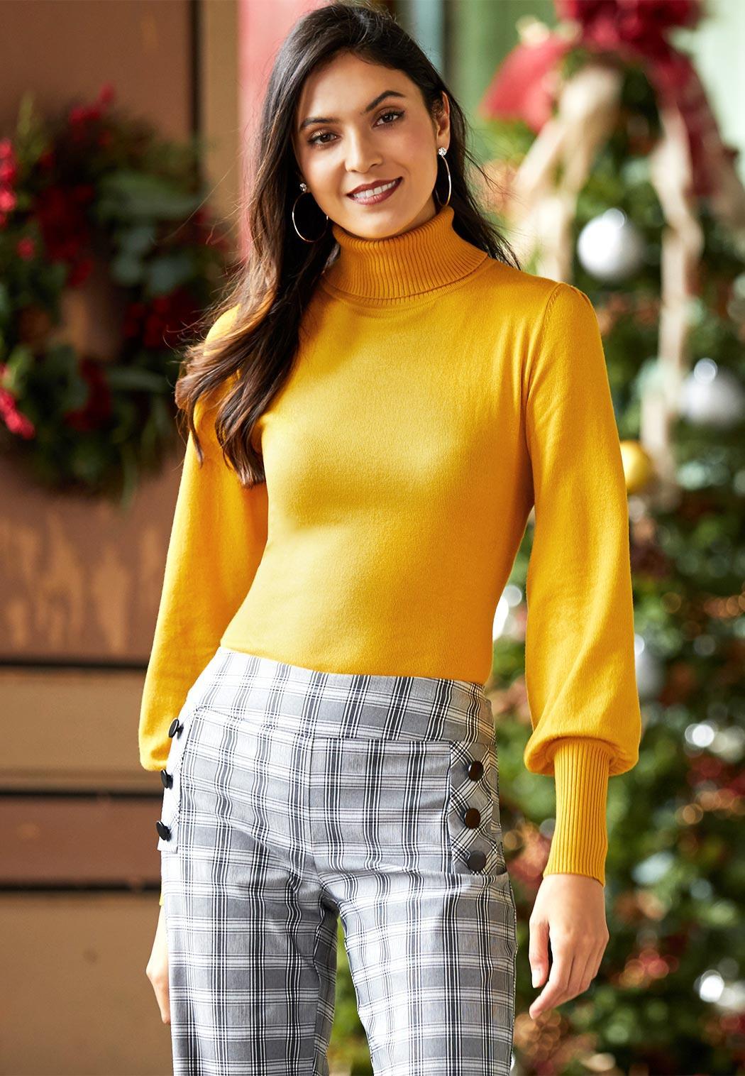 Balloon Sleeve Sweater (Item #44028031)