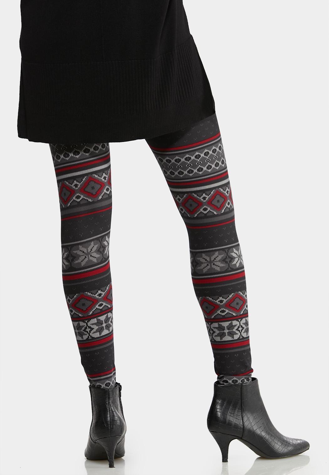 Festive Knit Leggings (Item #44032041)