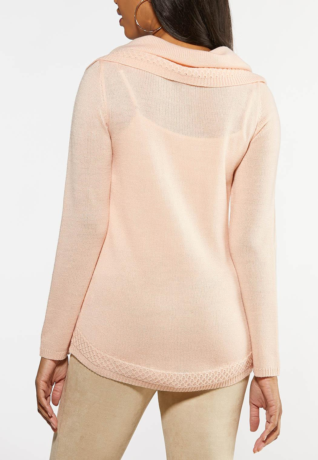 Off The Shoulder Tunic Sweater (Item #44032950)