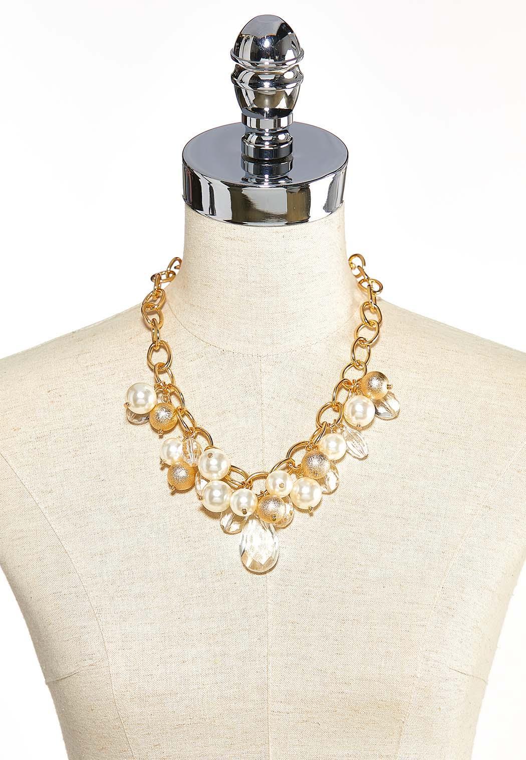 Gold And Ivory Charm Bracelet (Item #44034283)