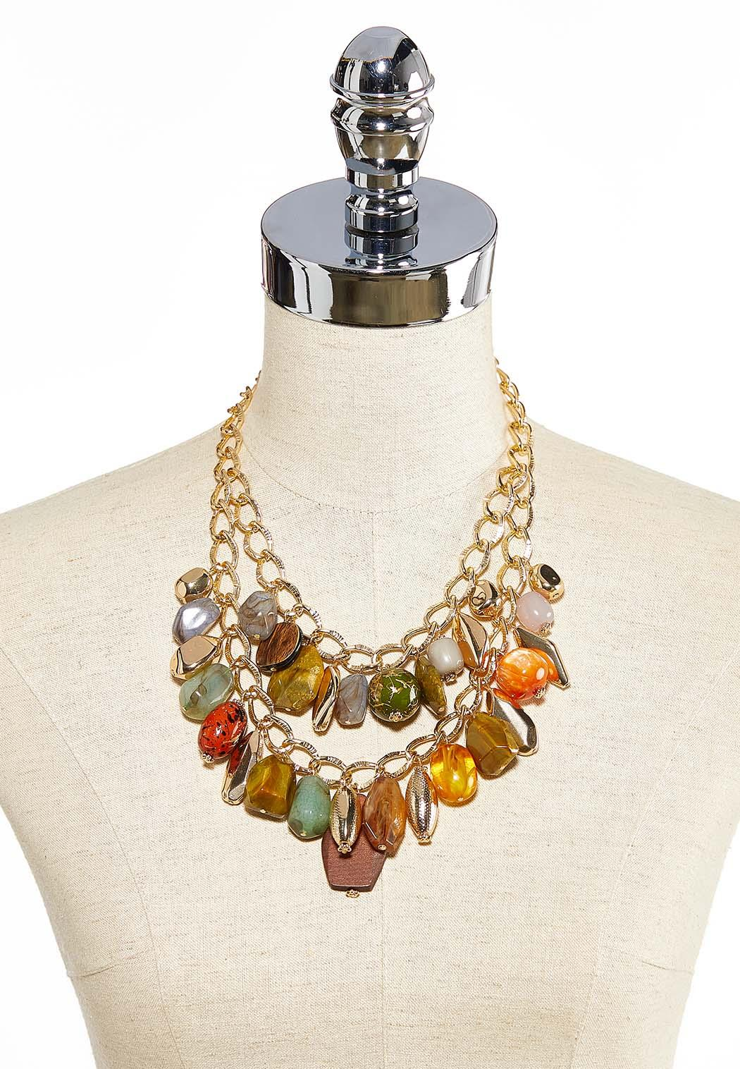 Links And Stones Necklace (Item #44034400)