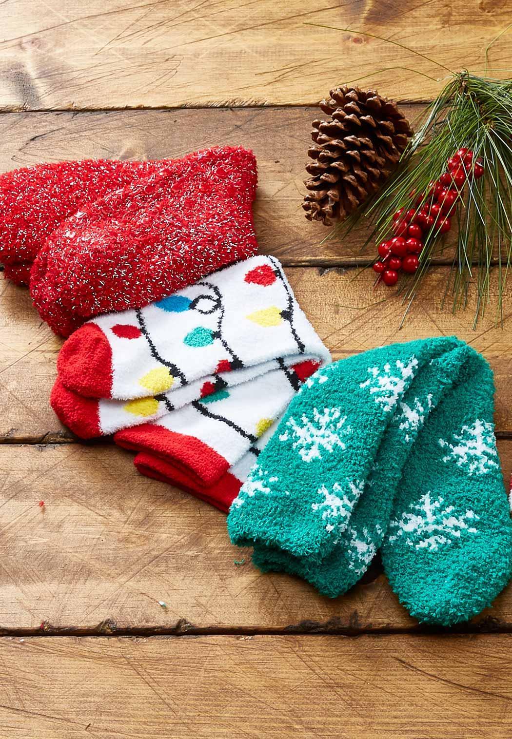 Cozy Christmas Light Socks (Item #44035528)