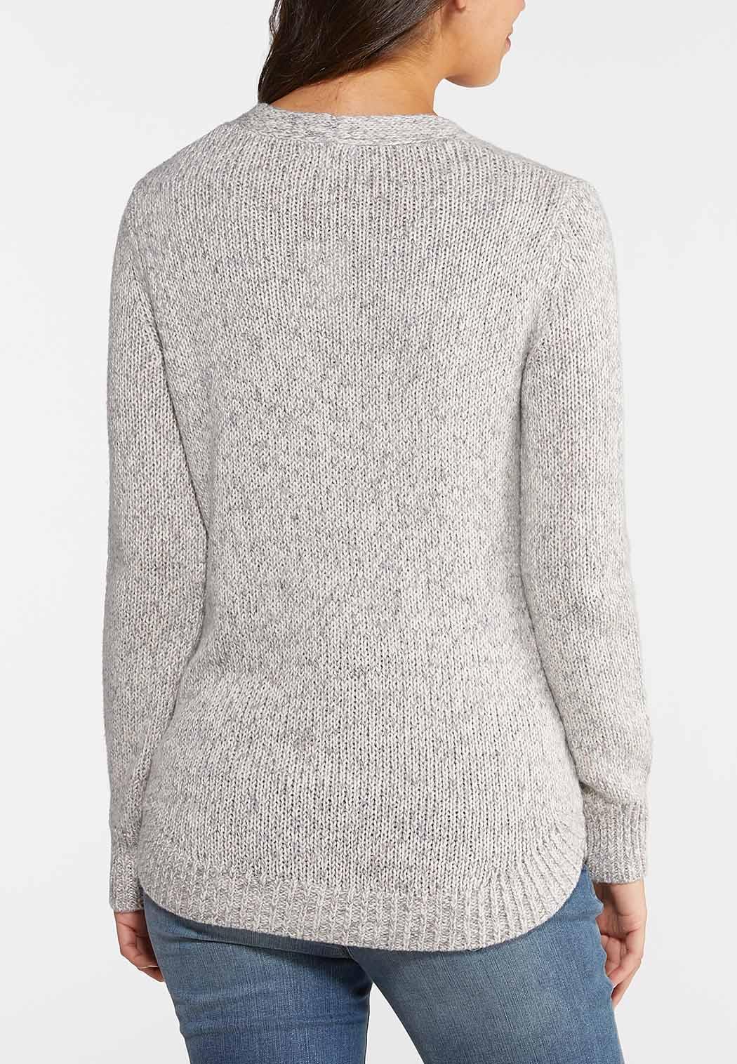 Multi Cable Knit Cardigan (Item #44037036)