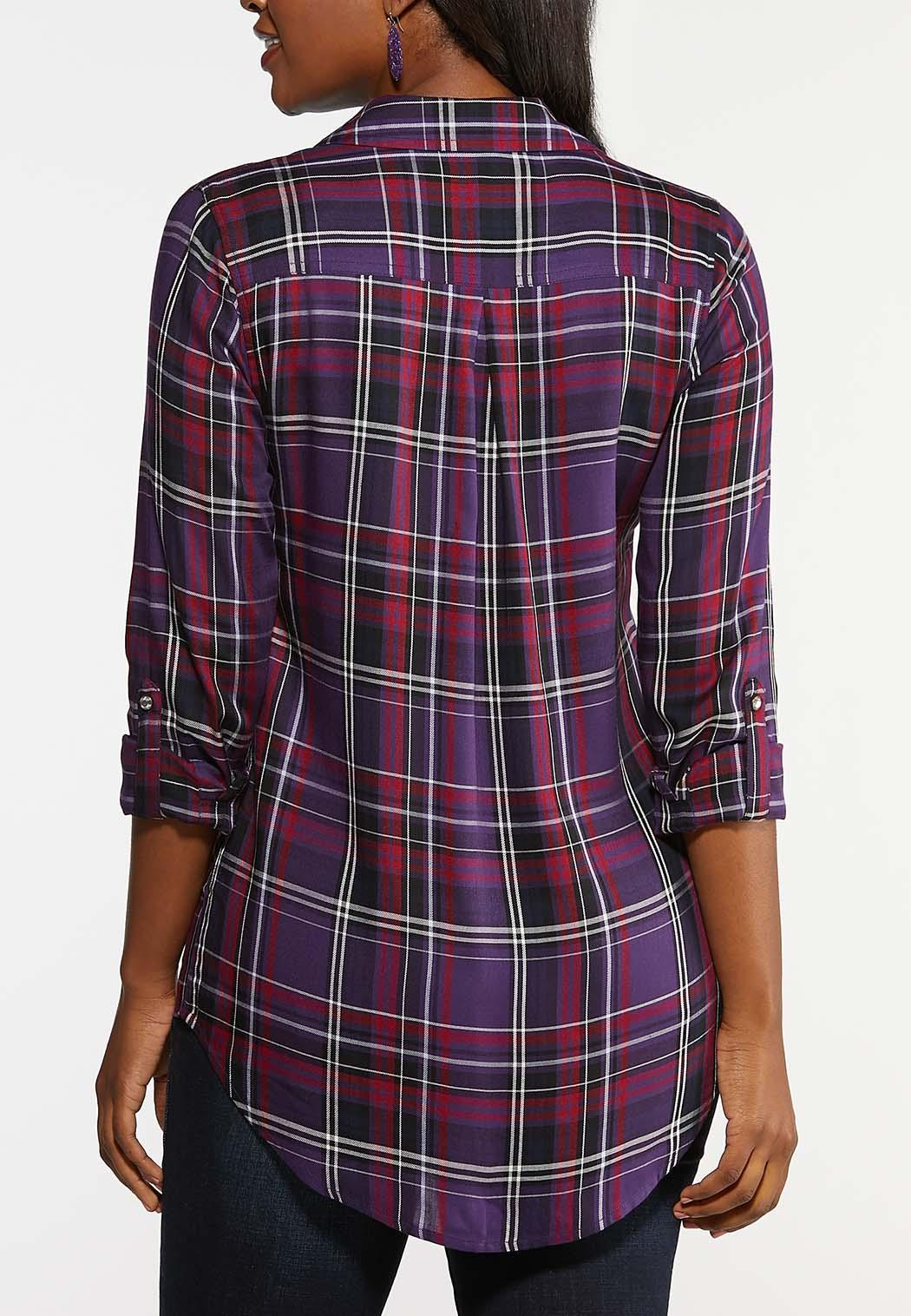 Bling Plaid Top (Item #44037883)