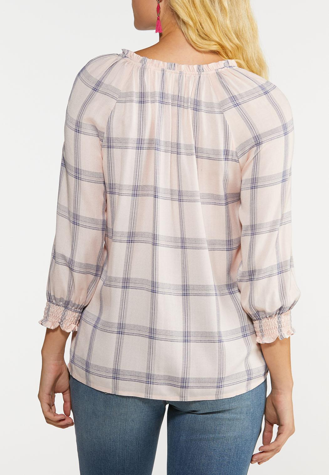 Plaid Poet Top (Item #44038985)