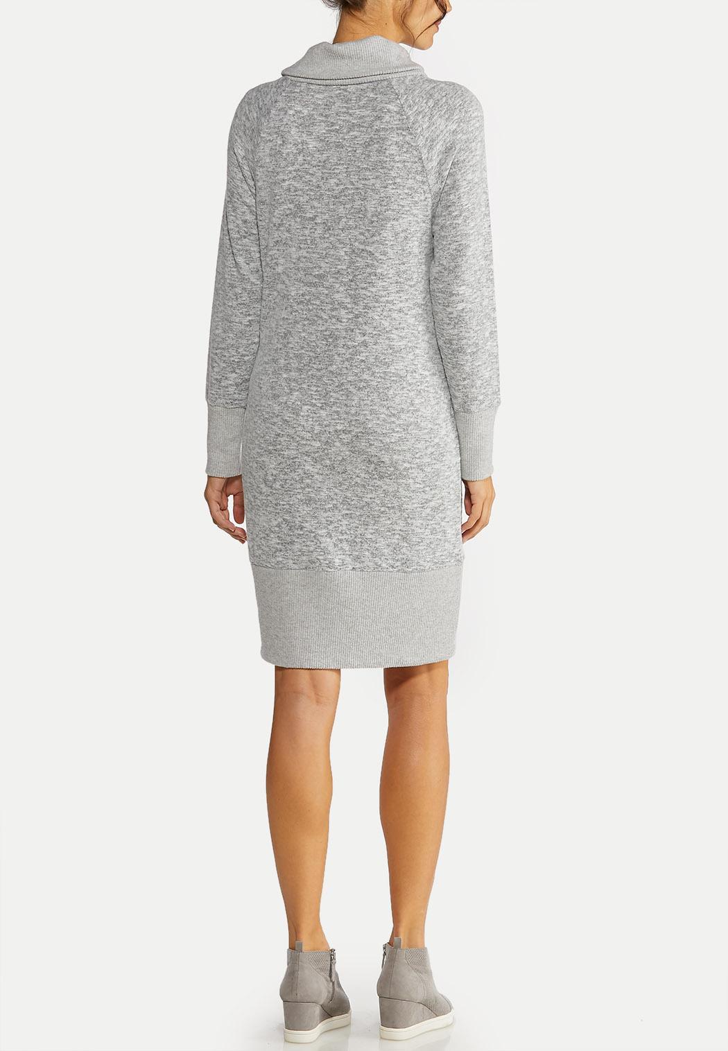 Plus Size Cowl Neck Active Dress (Item #44042325)
