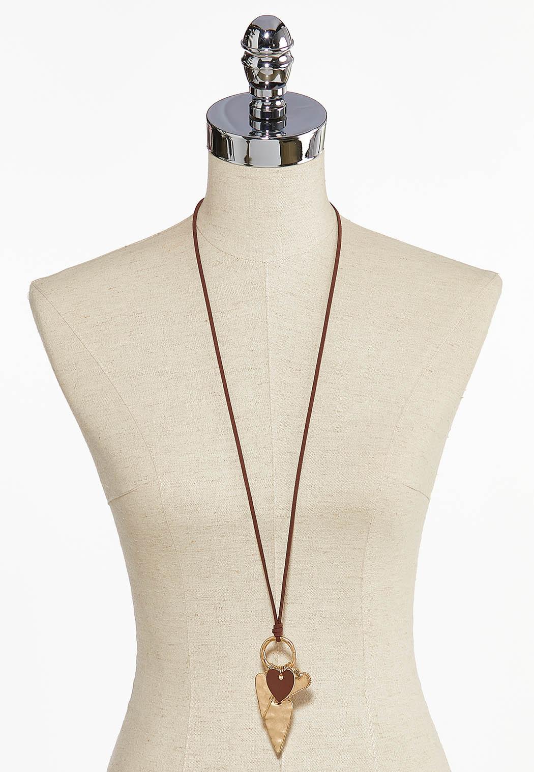 Hearts Galore Pendant Necklace (Item #44044053)