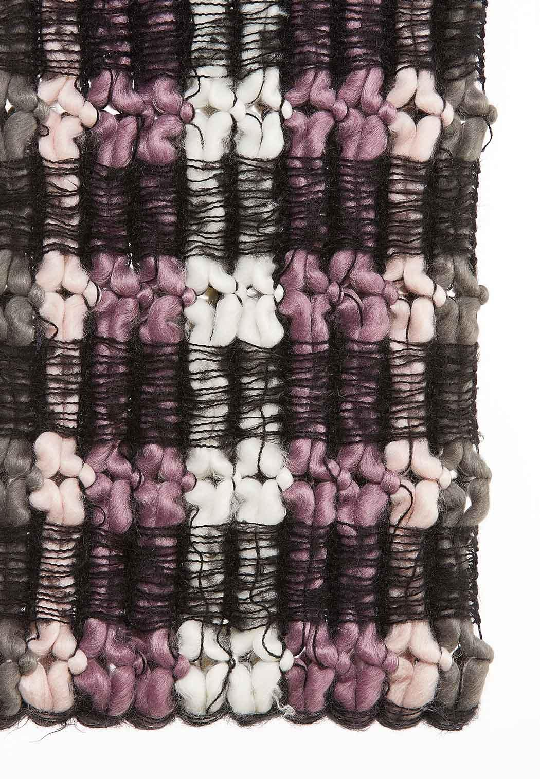 Netted Striped Infinity Scarf (Item #44044693)