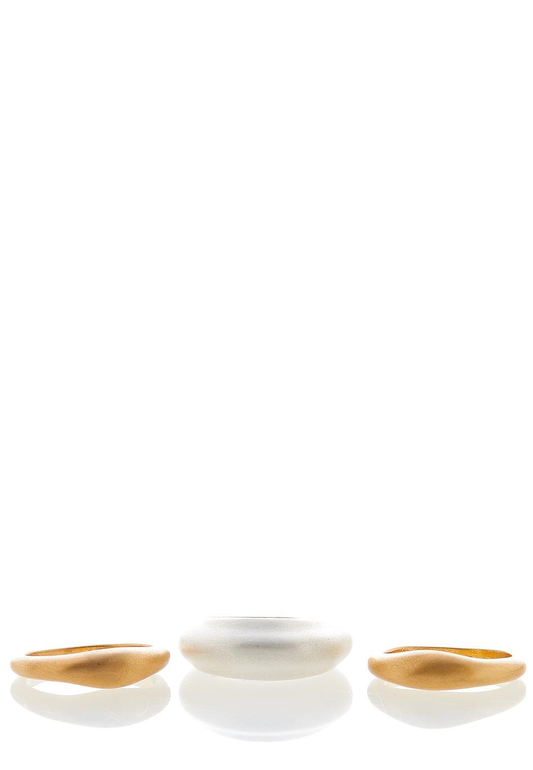 Gold And Ivory Bracelet Set (Item #44045840)