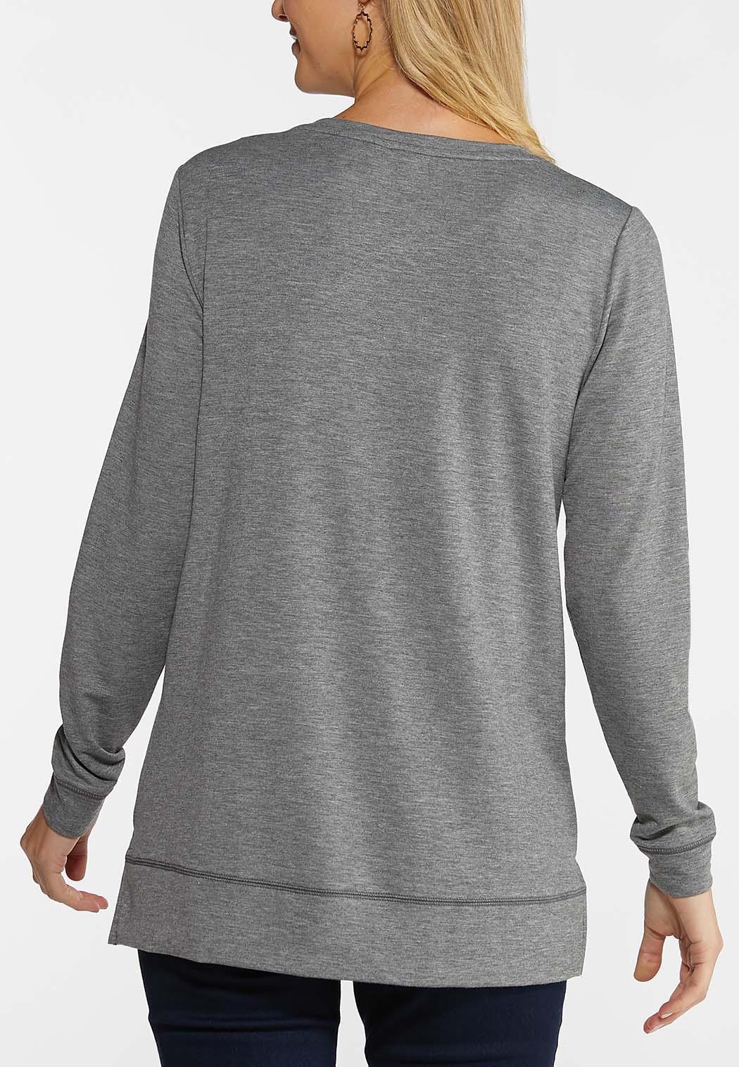 Plus Size Plaid Joy Sweatshirt (Item #44047181)