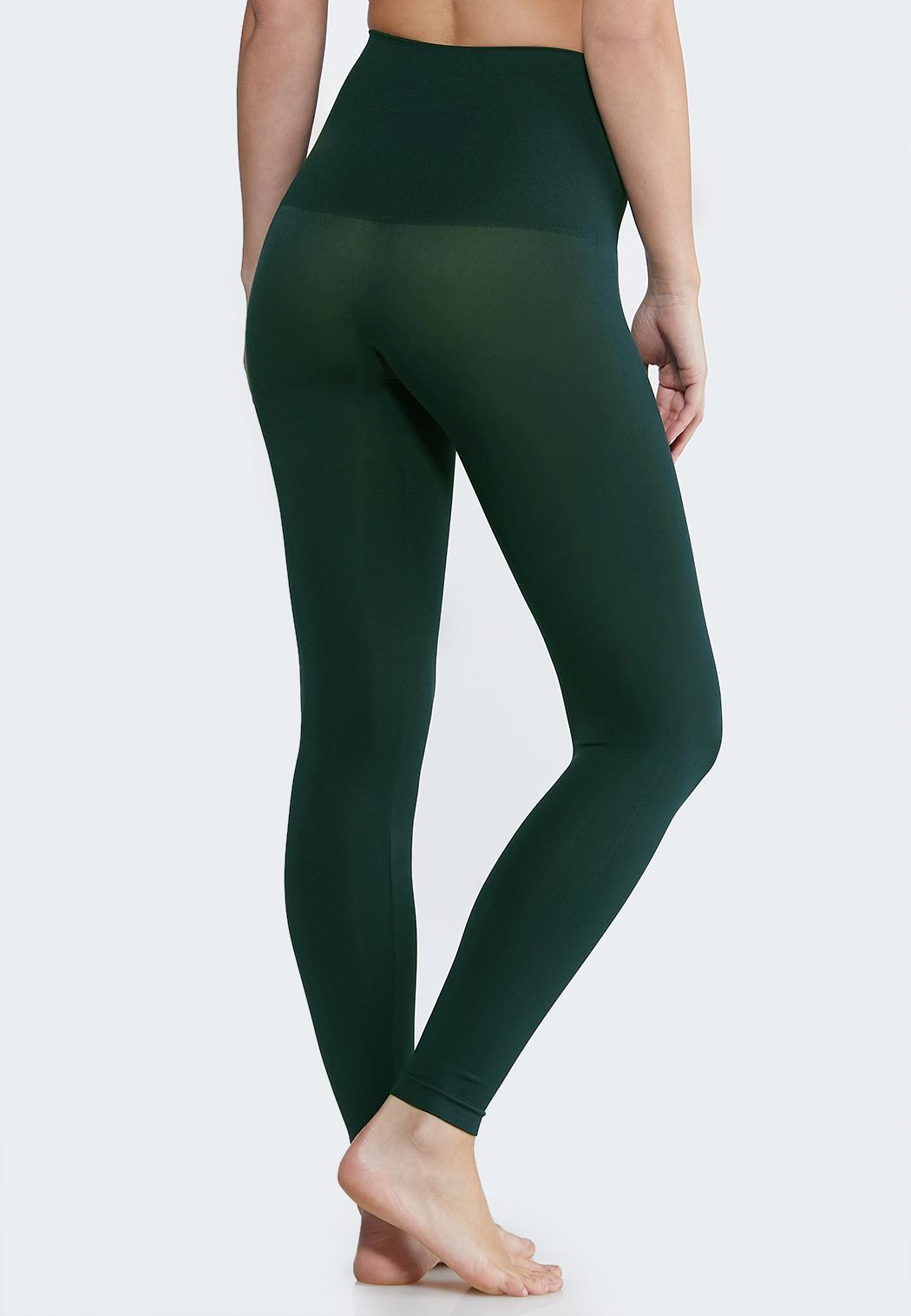 Plus Size The Perfect Green Shaping Leggings (Item #44047532)