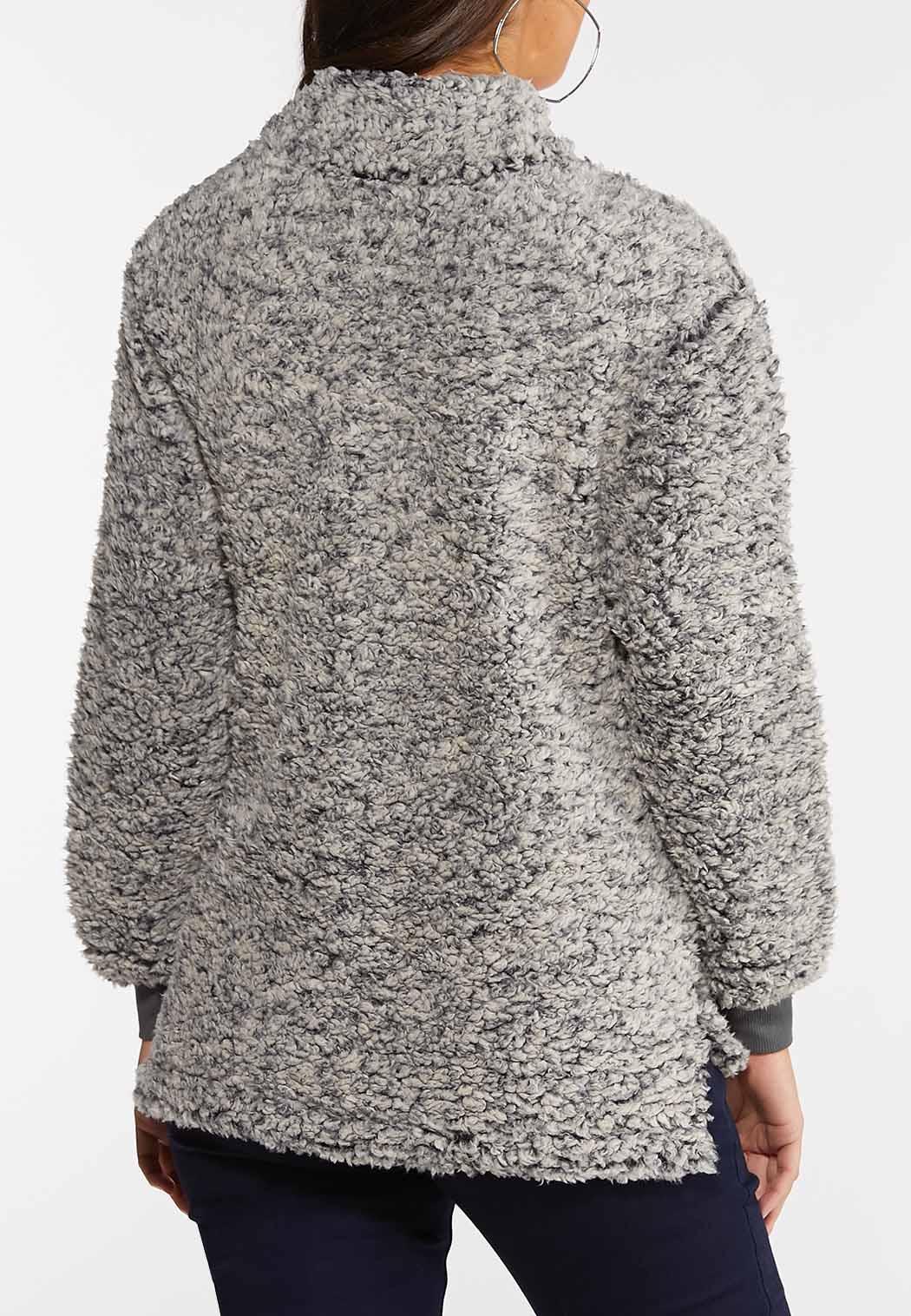 Fuzzy Half Zip Top (Item #44047567)