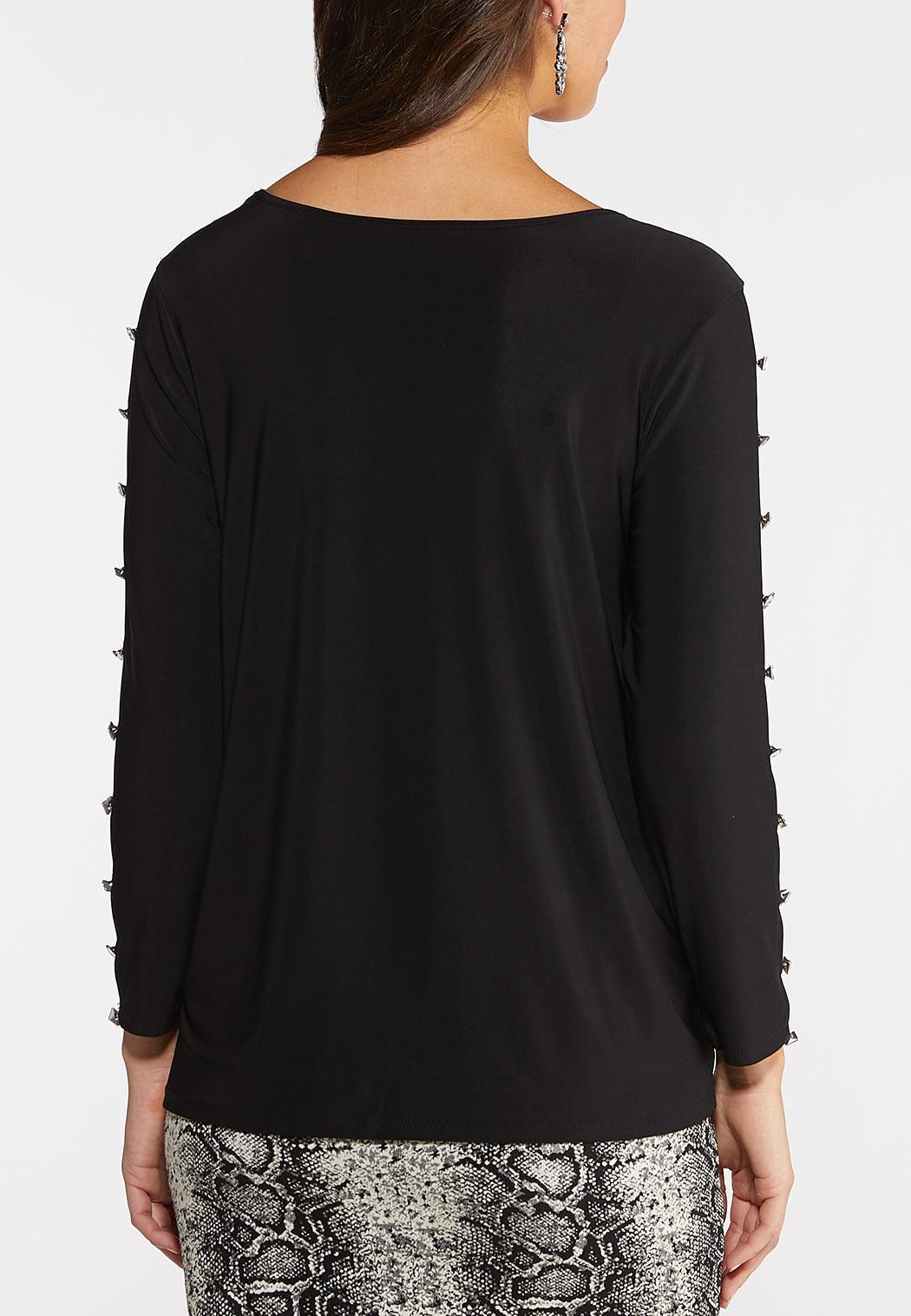 Crystal Sleeve Top (Item #44048395)