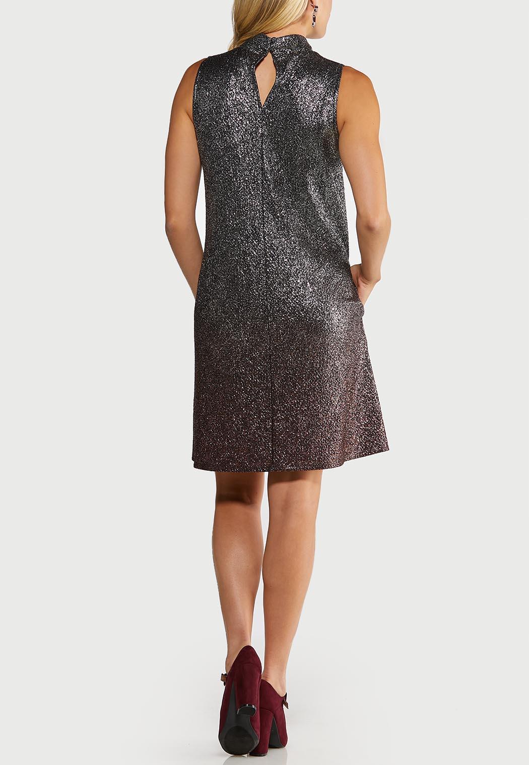 Ombre Shimmer Swing Dress (Item #44050447)