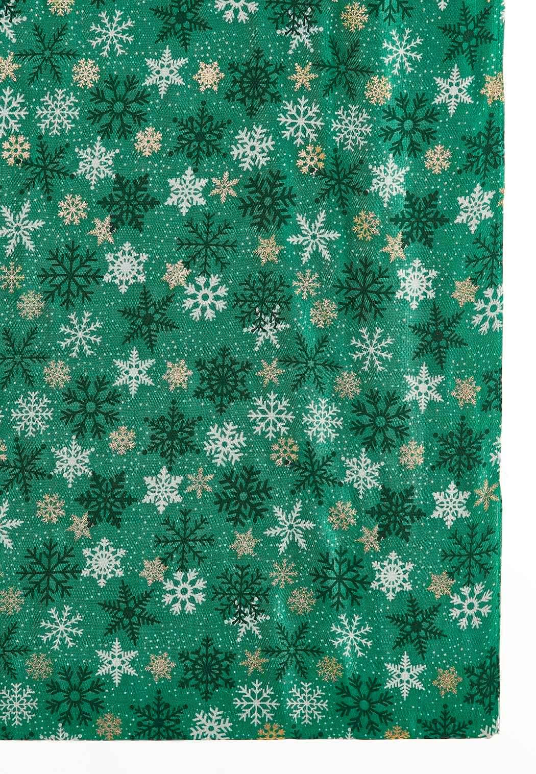 Foil Snowflake Infinity Scarf (Item #44050743)