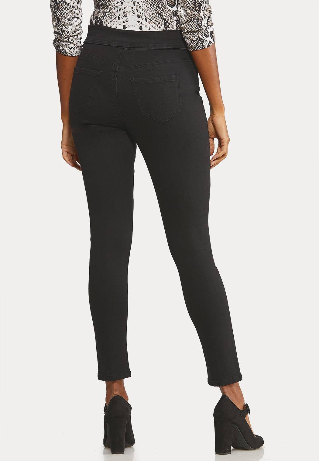 Fold Over Skinny Jeans (Item #44050764)