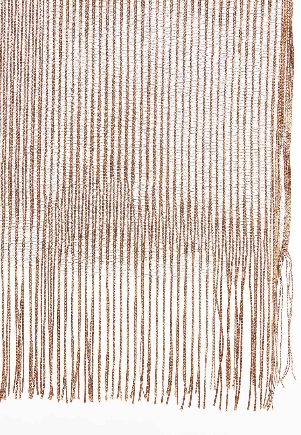 Open Weave Metallic Oblong Scarf (Item #44051122)