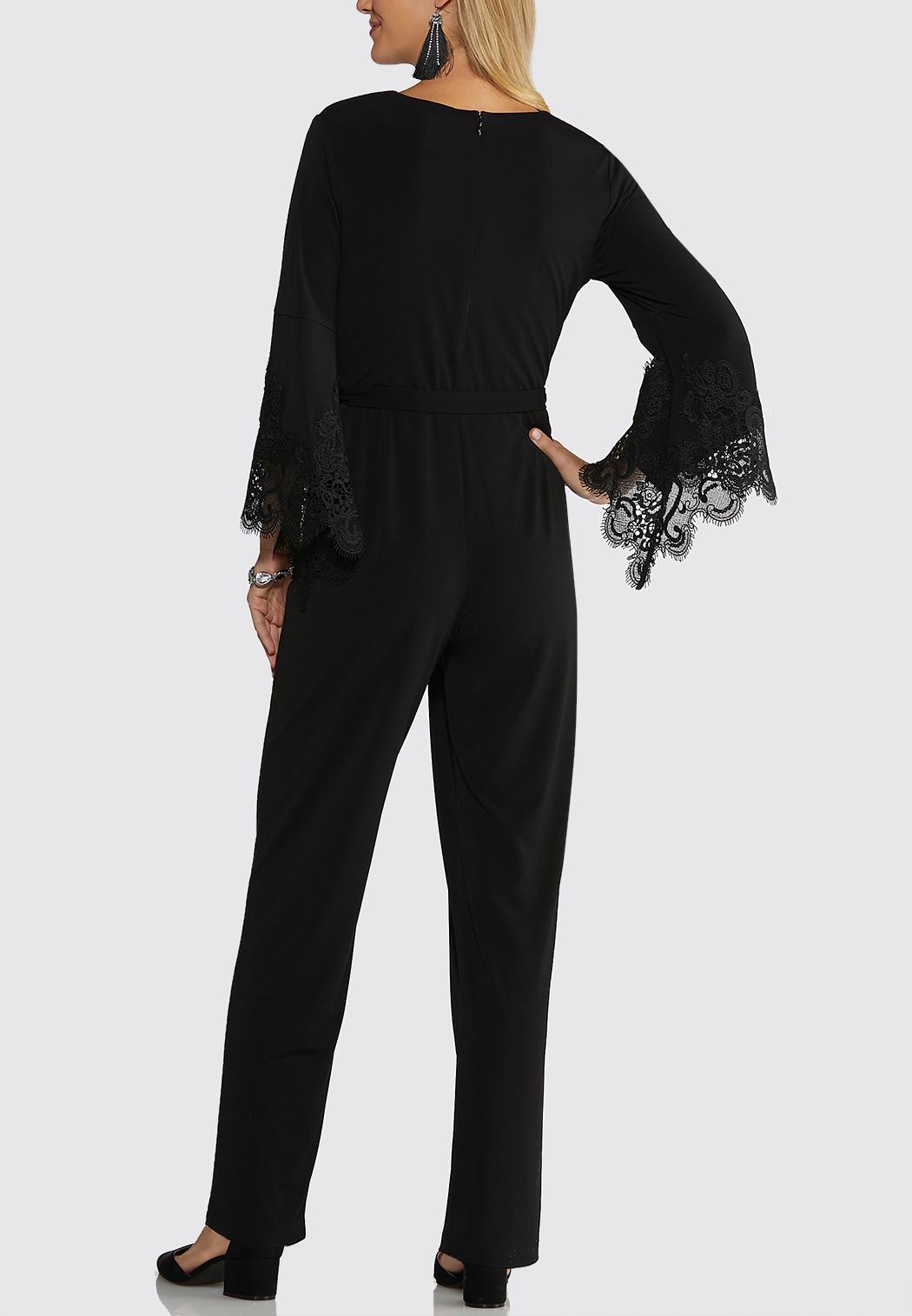 Lace Trim Jumpsuit (Item #44052386)