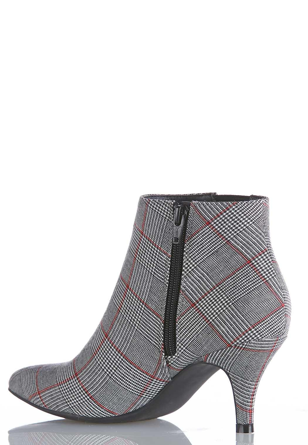Plaid Stretch Gore Booties (Item #44053244)