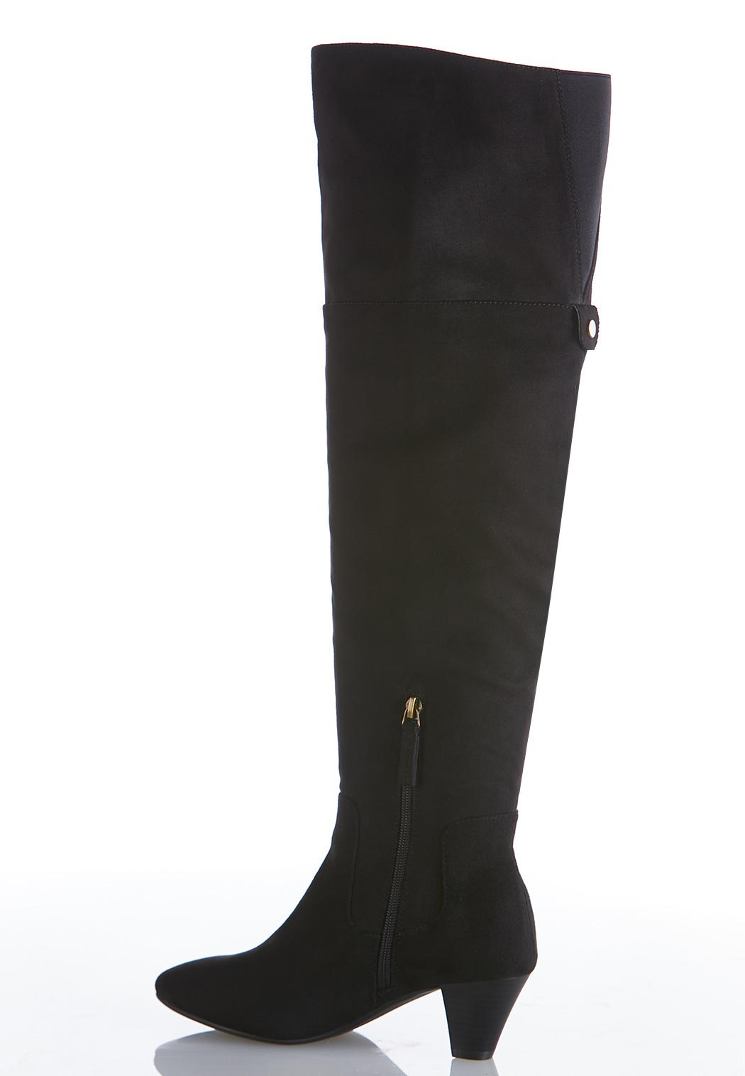 Wide Width Over The Knee Heeled Boots (Item #44056711)