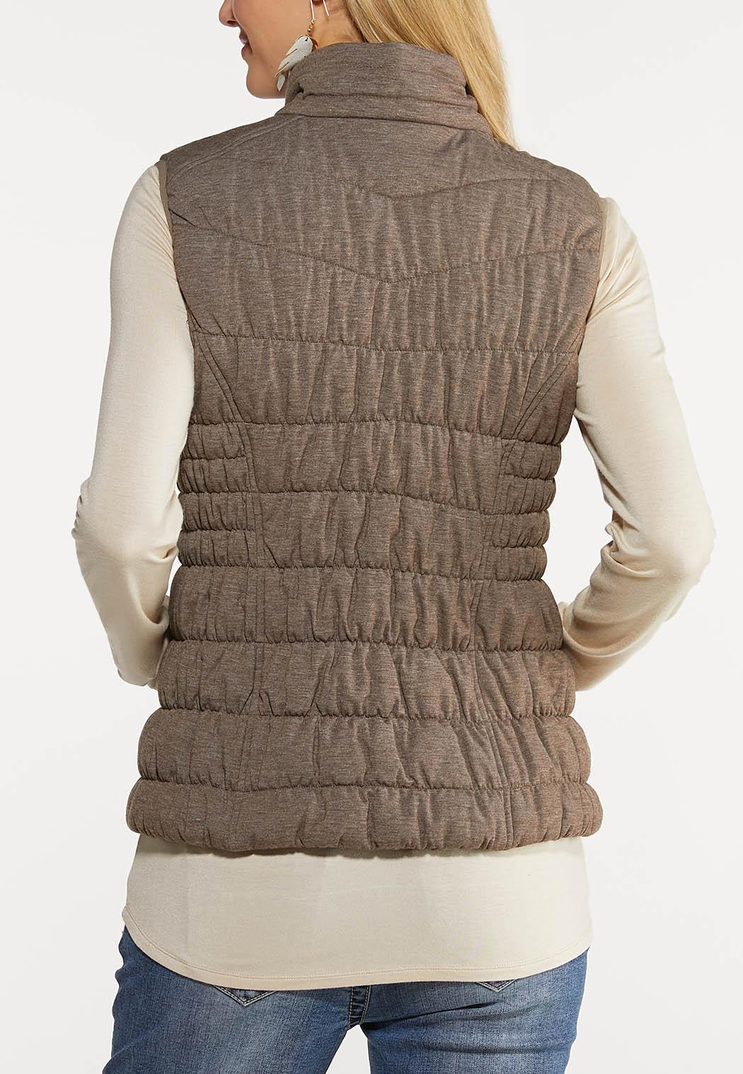 Zip Up Puffer Vest (Item #44057371)