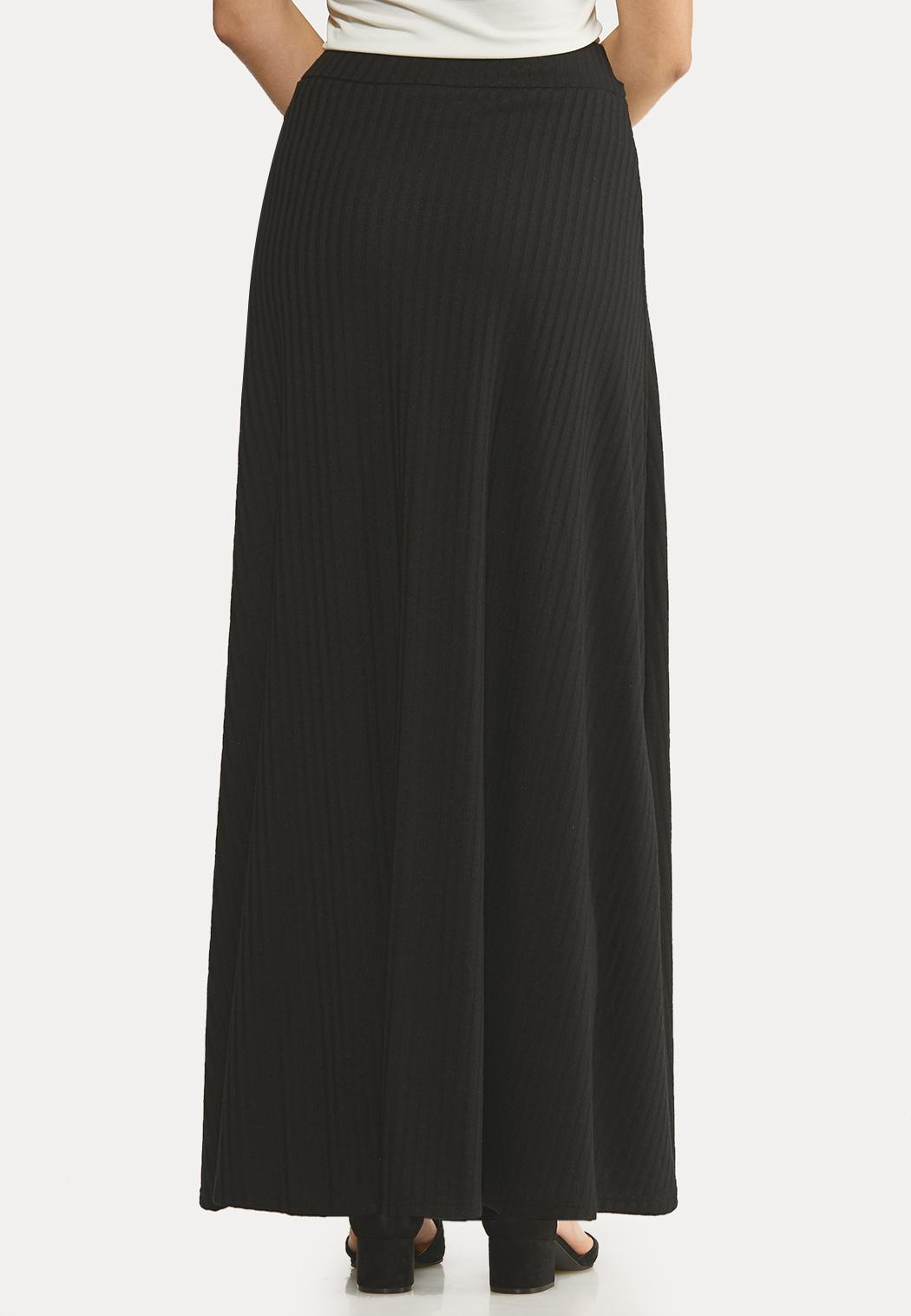 Ribbed Maxi Skirt (Item #44057491)